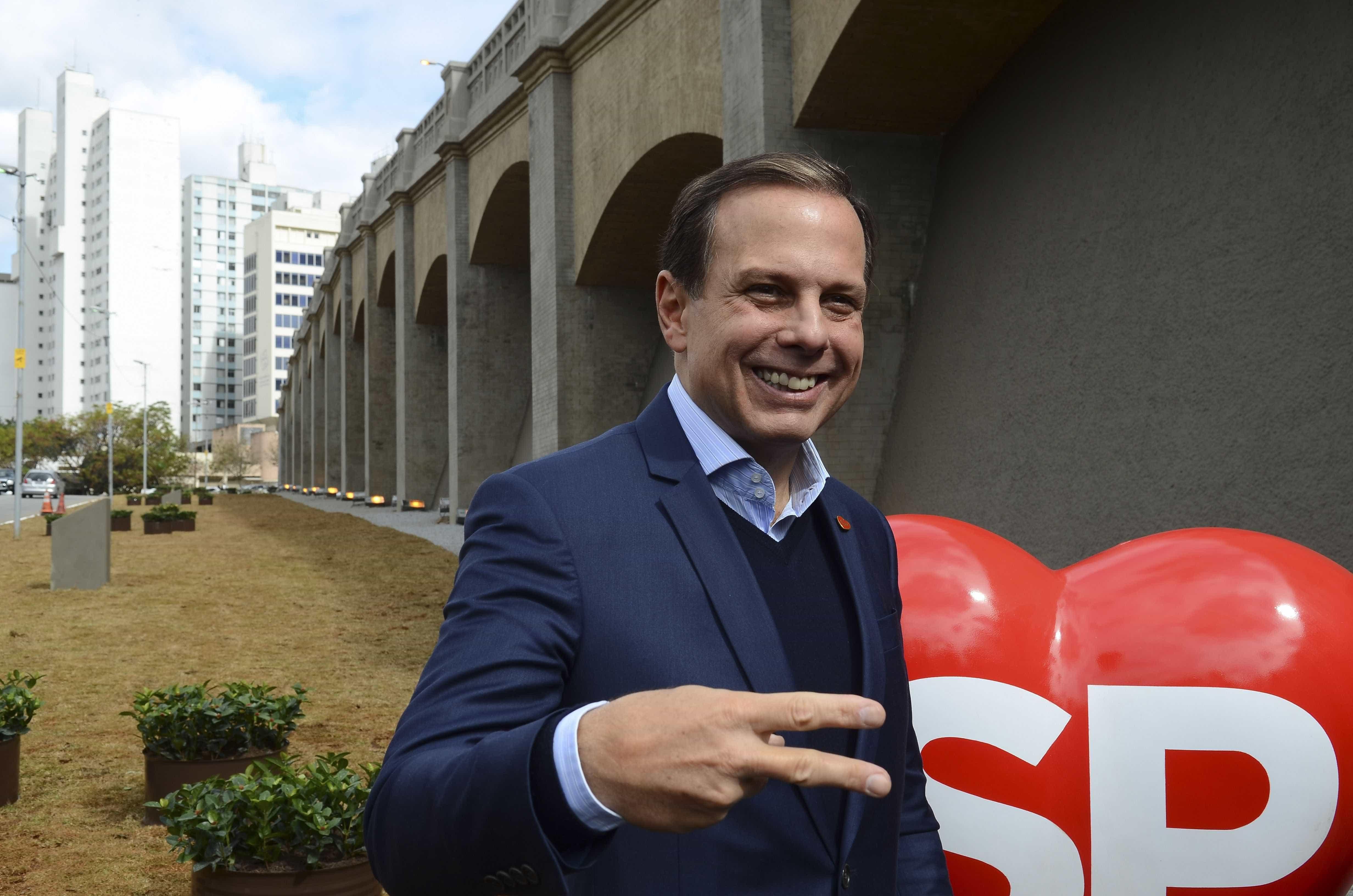 Doria se encontrará com Jair Bolsonaro hoje às 17h30 no Rio