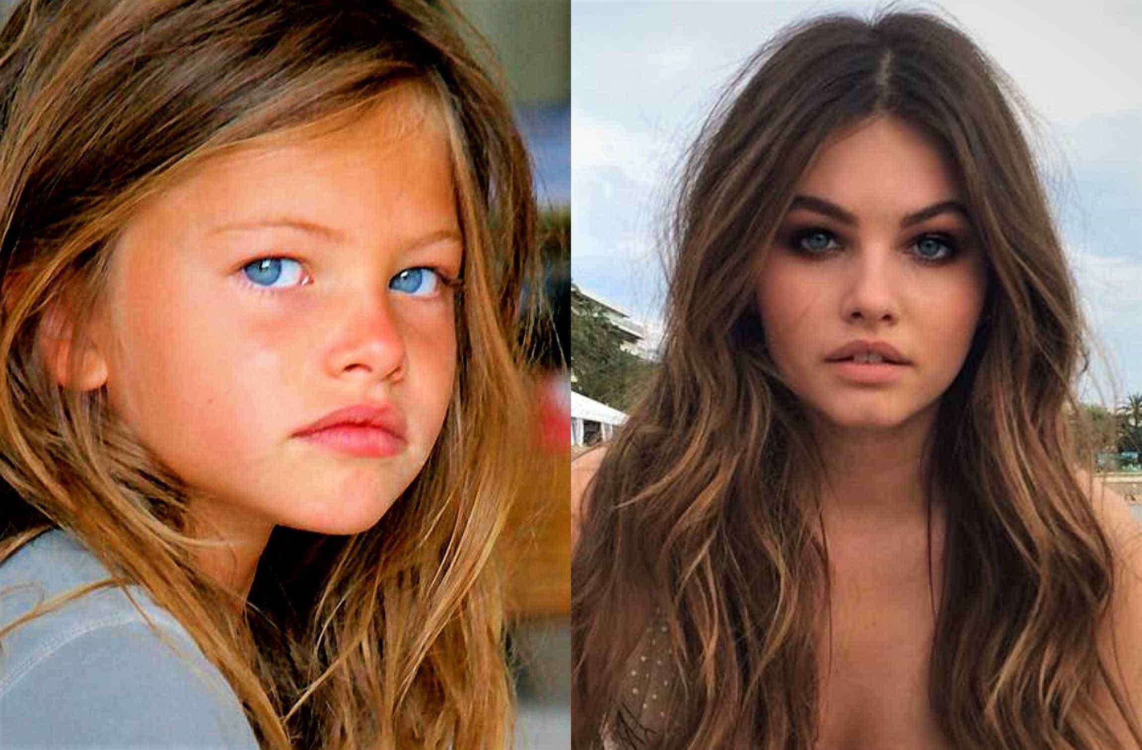 Eleita 'menina mais bonita do mundo', modelo lança marca de roupas