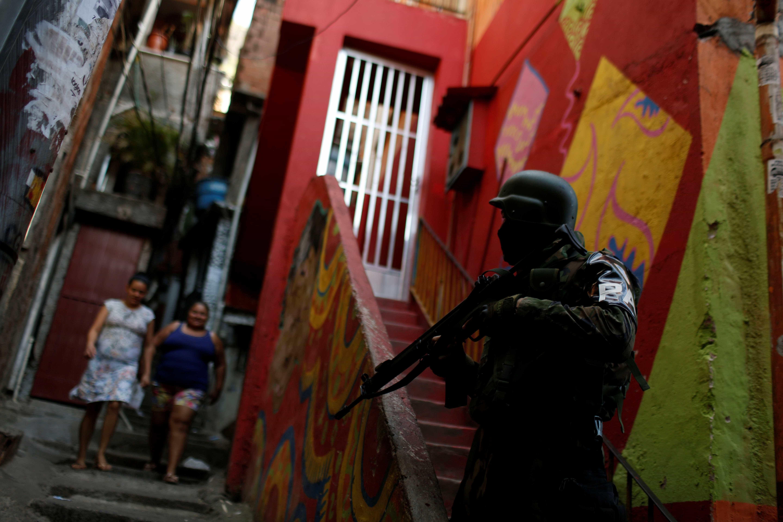 Forças de segurança fazem operação na zona norte do Rio