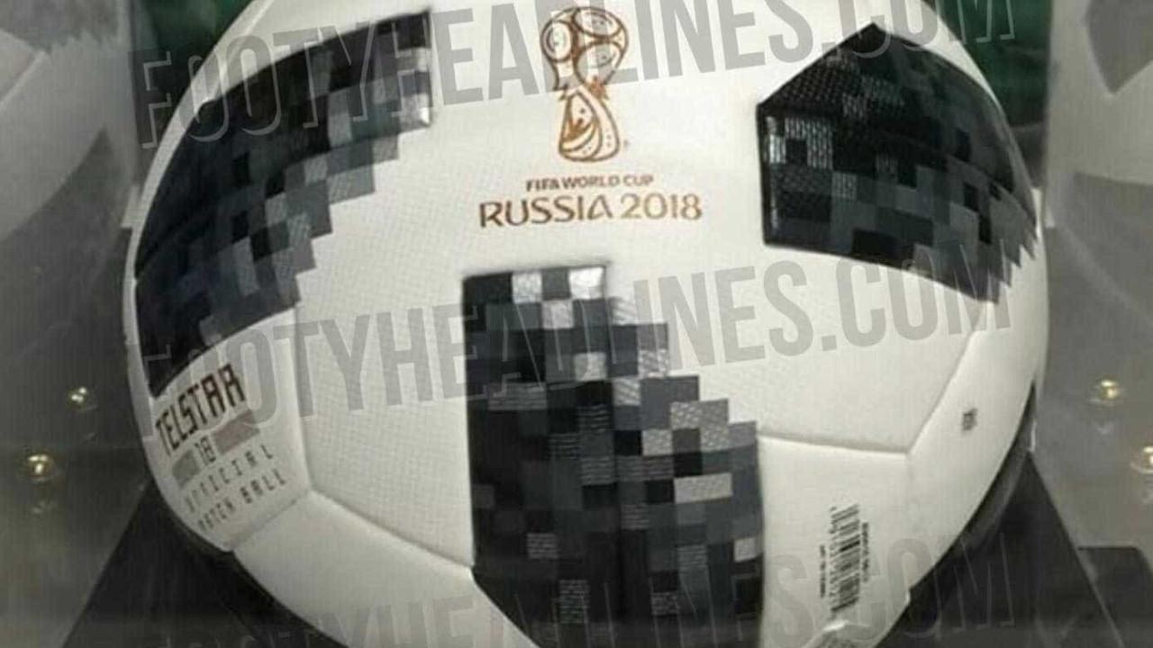 Site vaza imagem de suposta bola oficial da Copa de 2018  veja 27dfd508eabdd