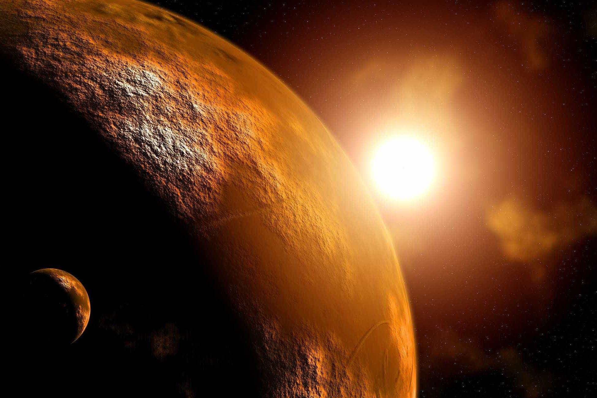 Marte tem depósito de água em estado líquido, confirmam cientistas