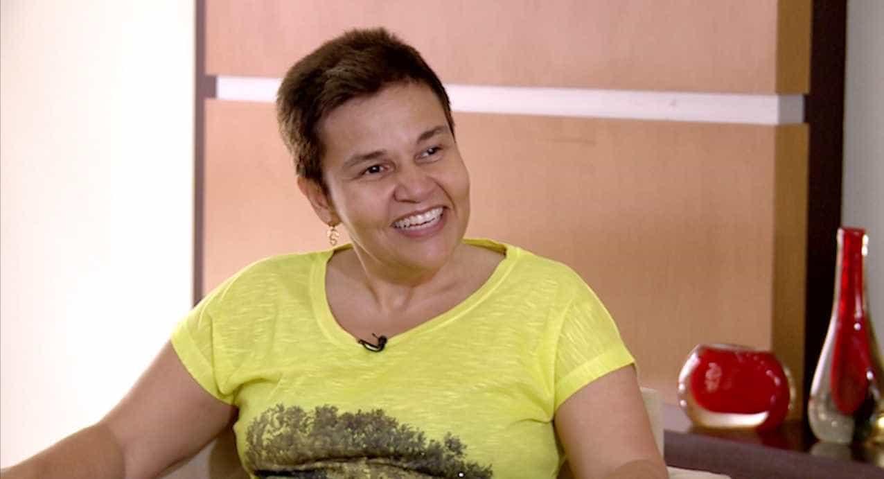 Empresária de Cláudia Rodrigues pede orações em programa de tv