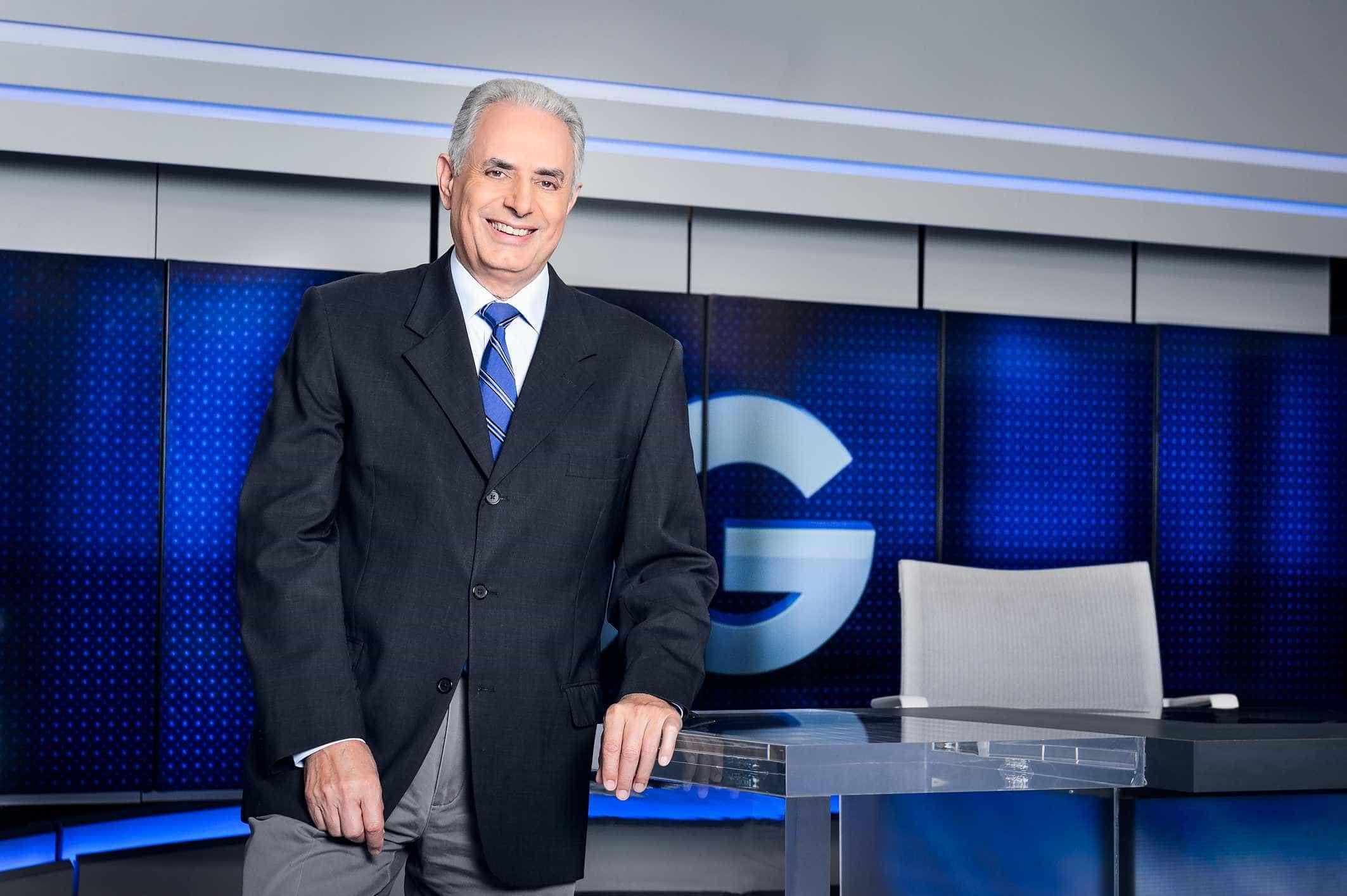 Um ano após demissão, William Waack diz que Globo é 'ninho de cobras'