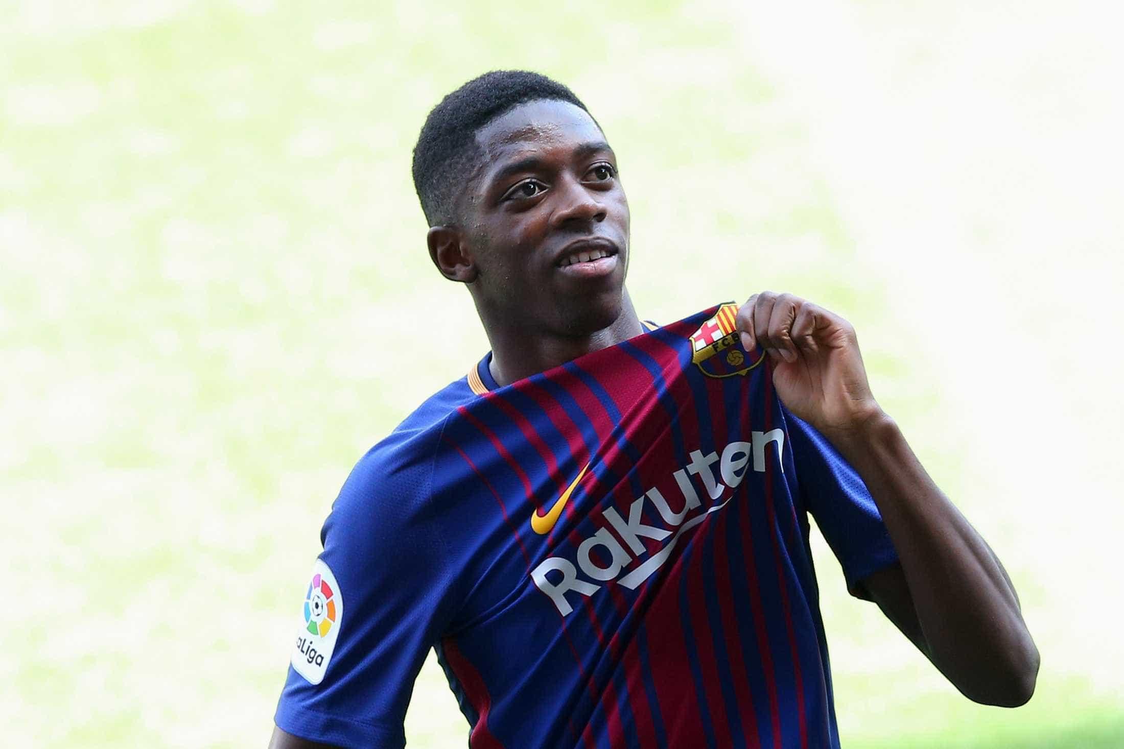 Presidente do Barcelona diz que Dembélé é melhor que Neymar
