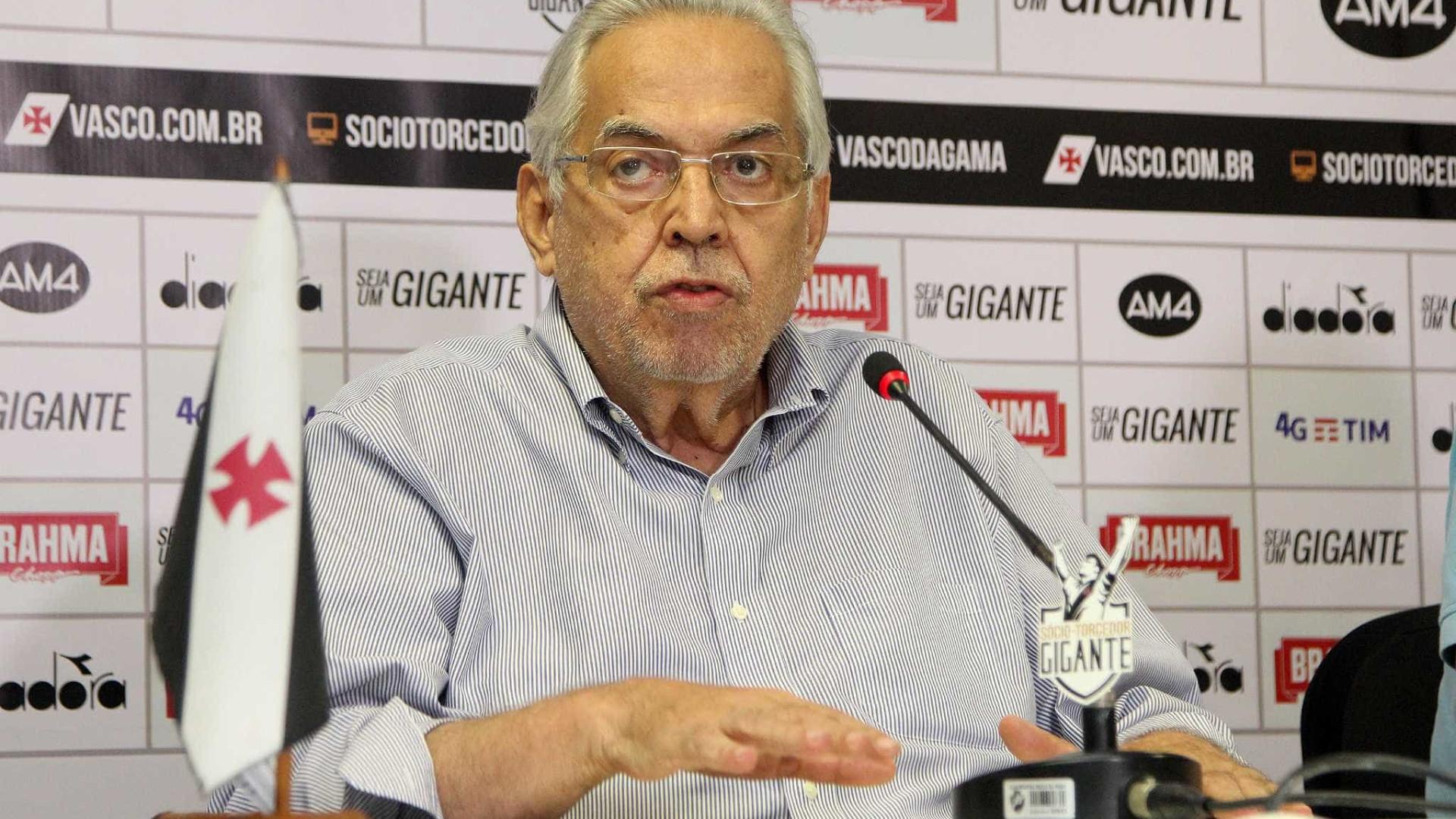 Morre o ex-presidente do Vasco Eurico Miranda, aos 74 anos