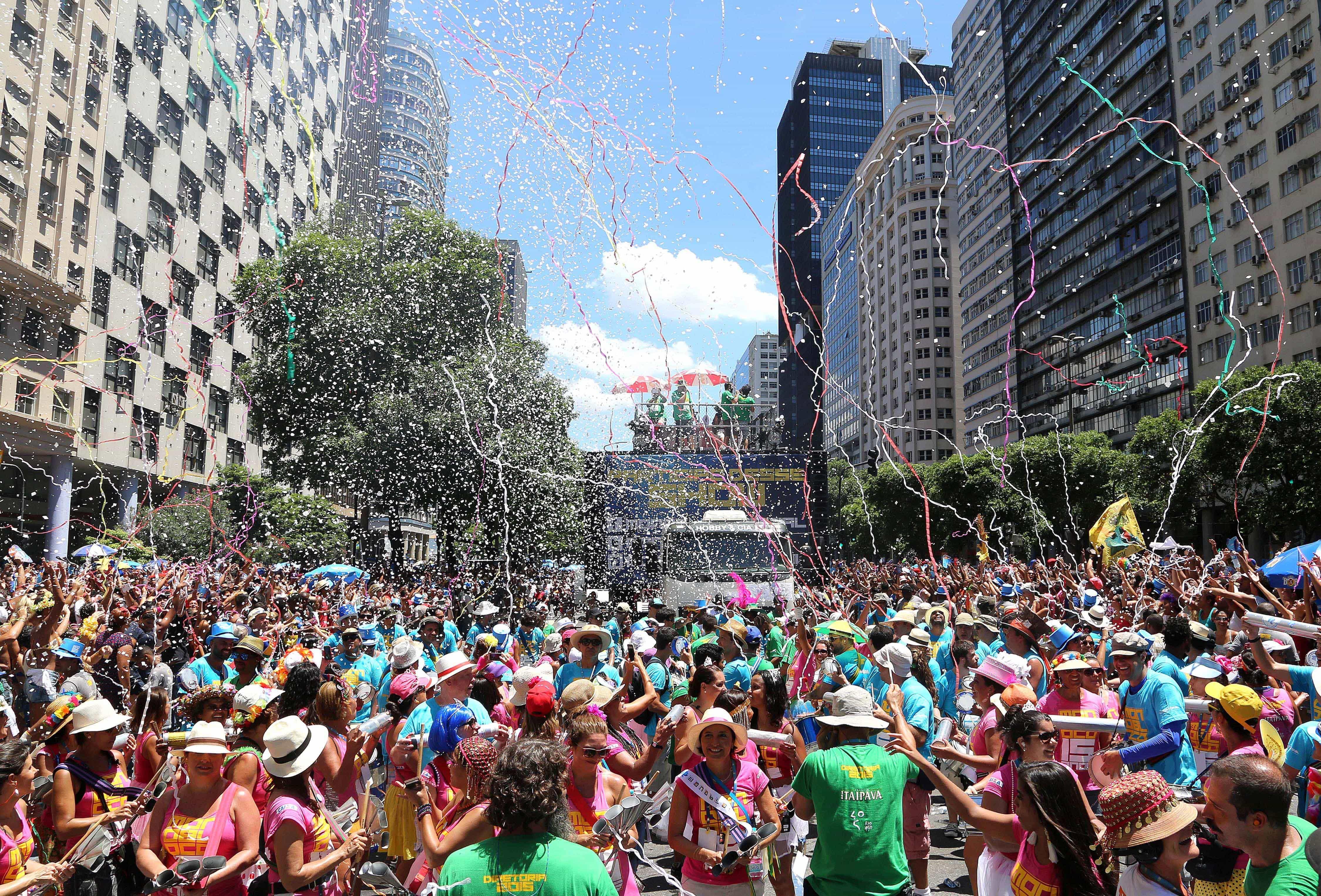 Carnaval ajuda Rio de Janeiro a retomar rumo do crescimento