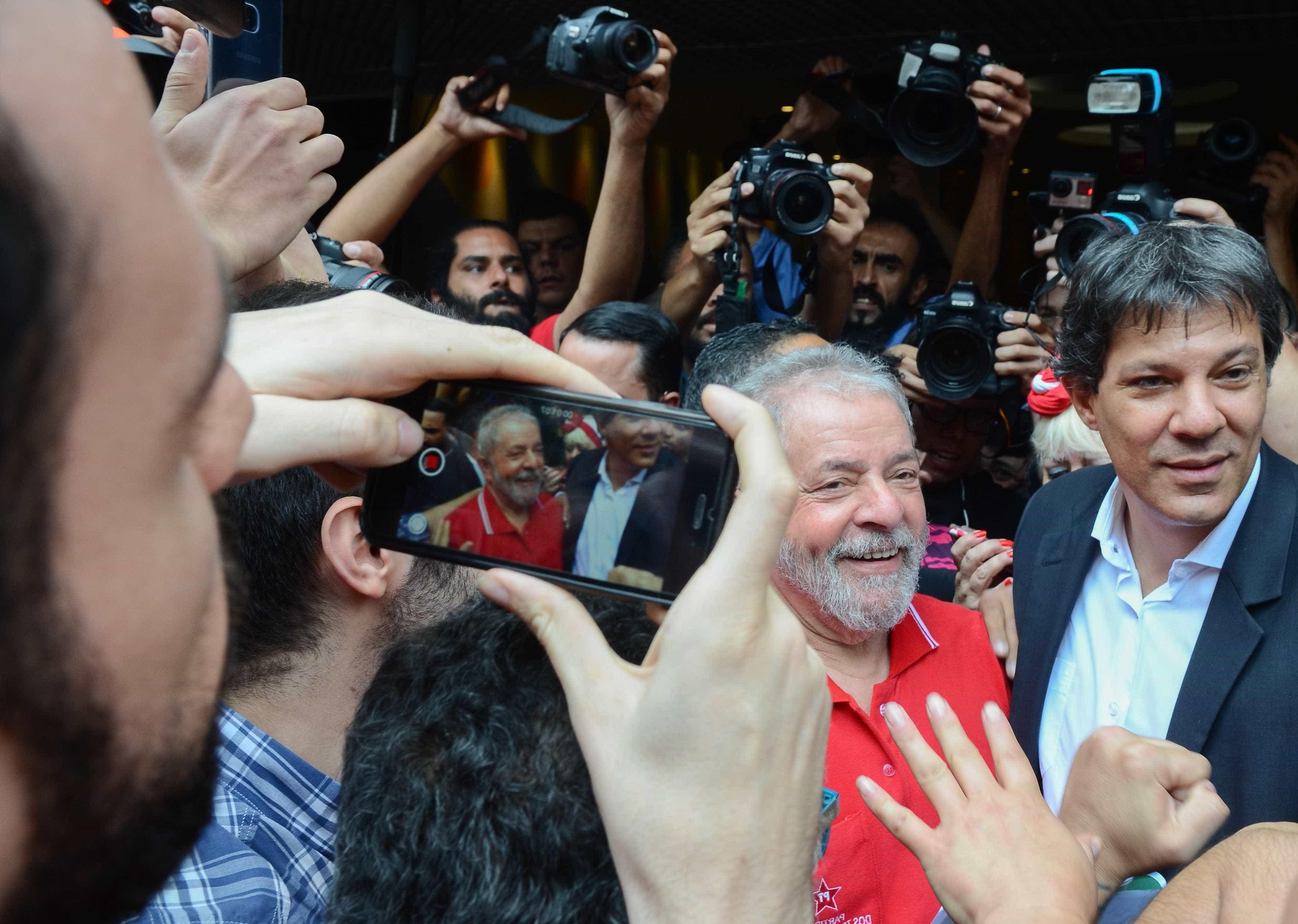 Seria um desrespeito discutir alternativas ao Lula, diz Haddad