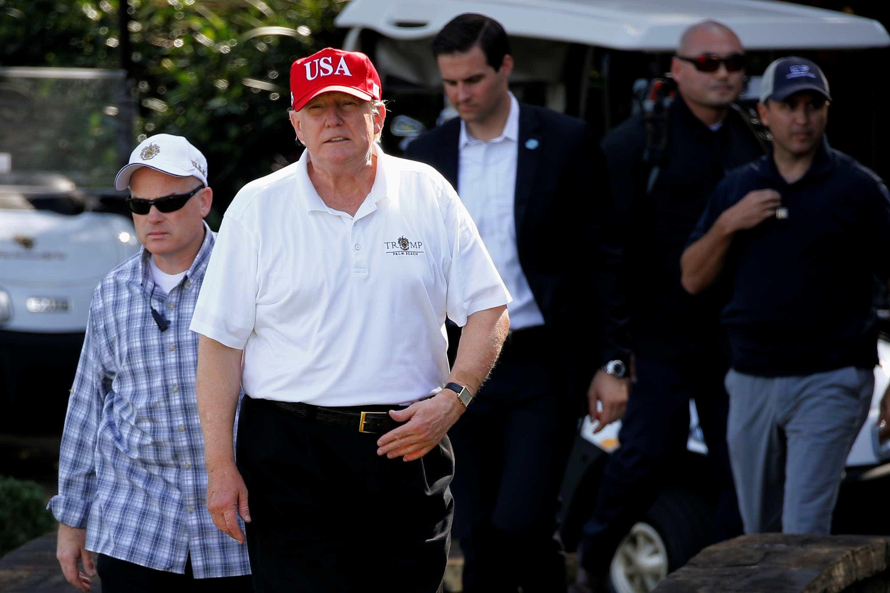 Check-up gera polêmica sobre peso de Donald Trump