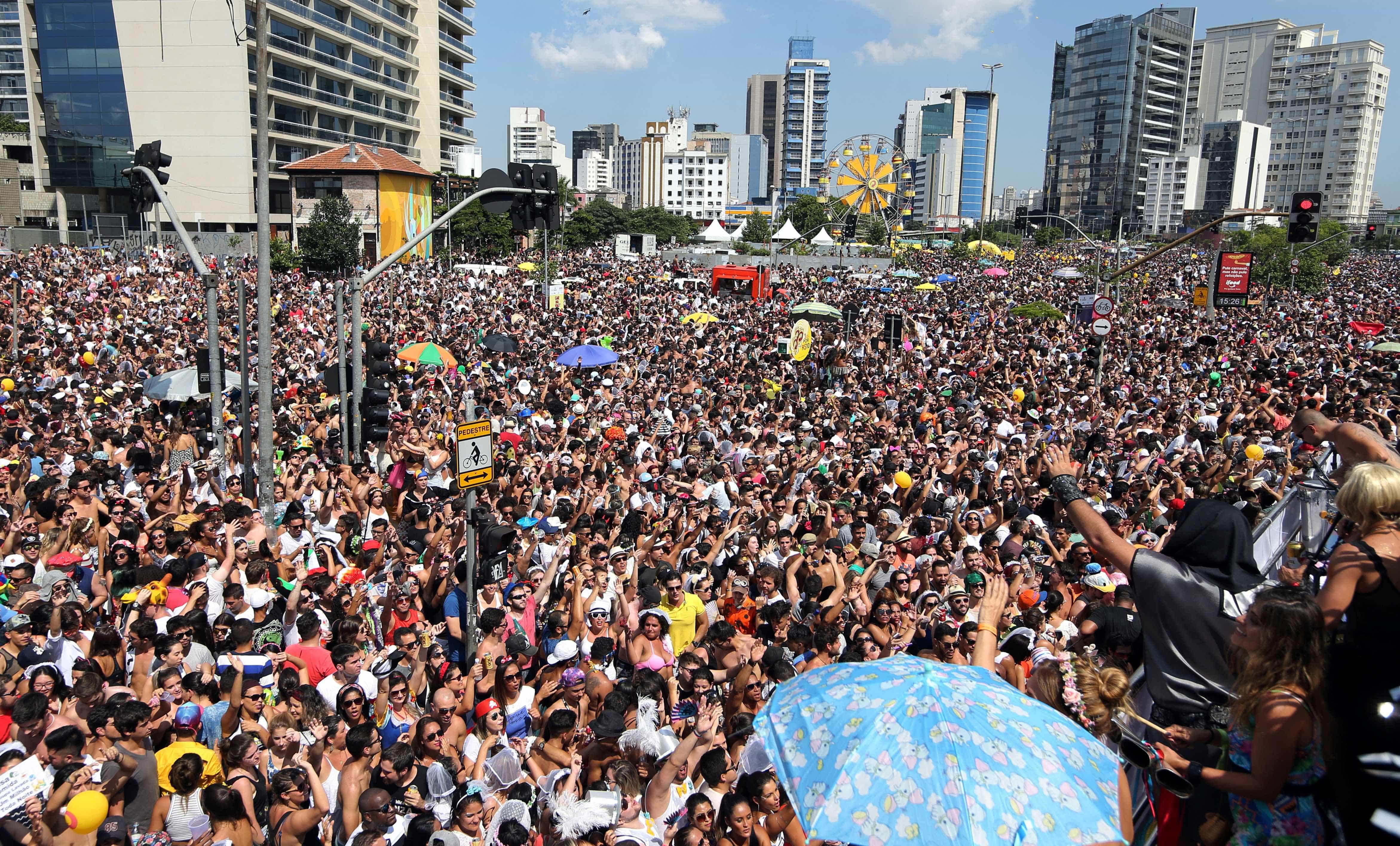 São Paulo teve 9 milhões de pessoas no pré e durante o Carnaval