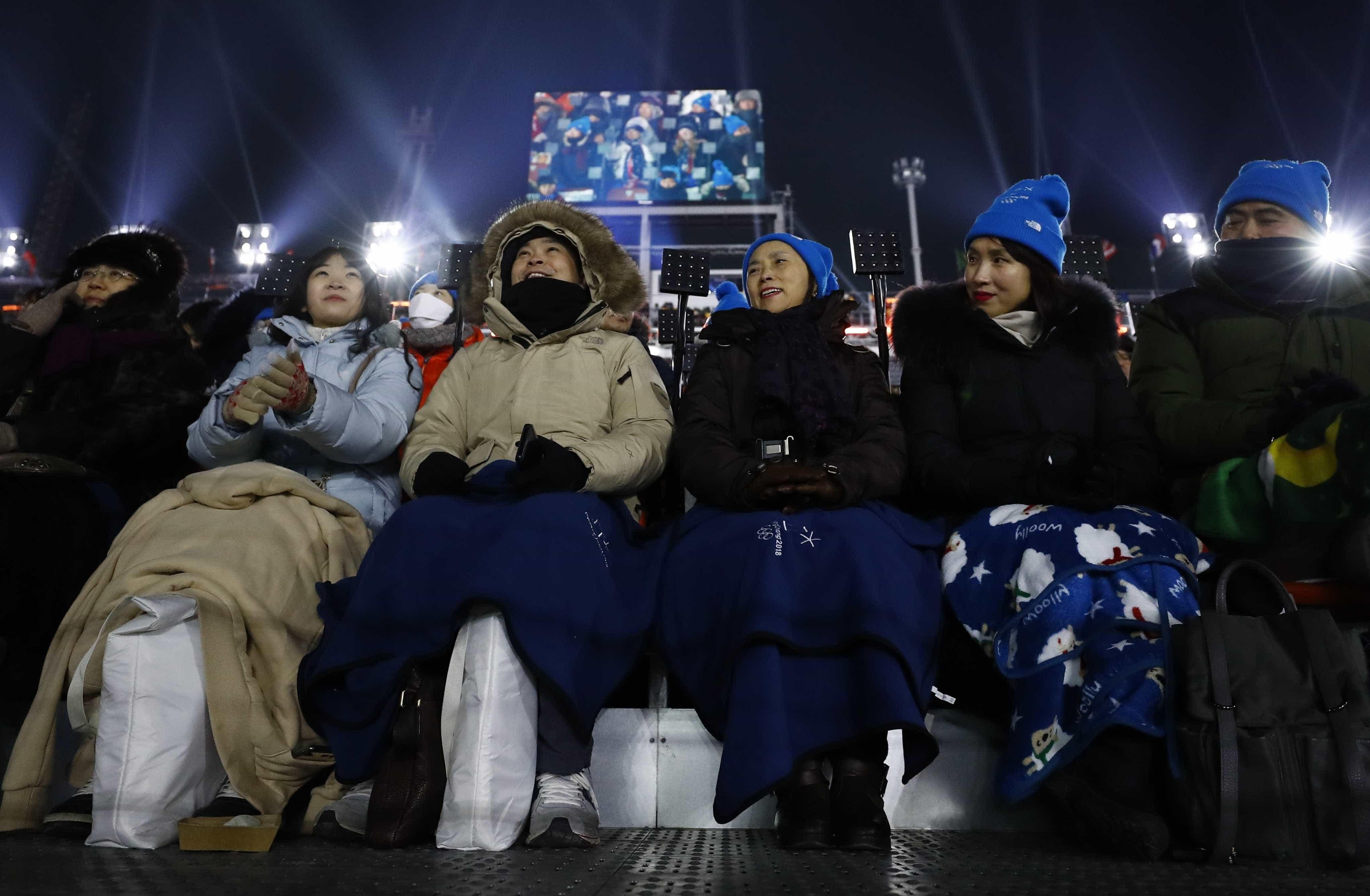 As melhores imagens da abertura das Olimpíadas de Inverno 2018