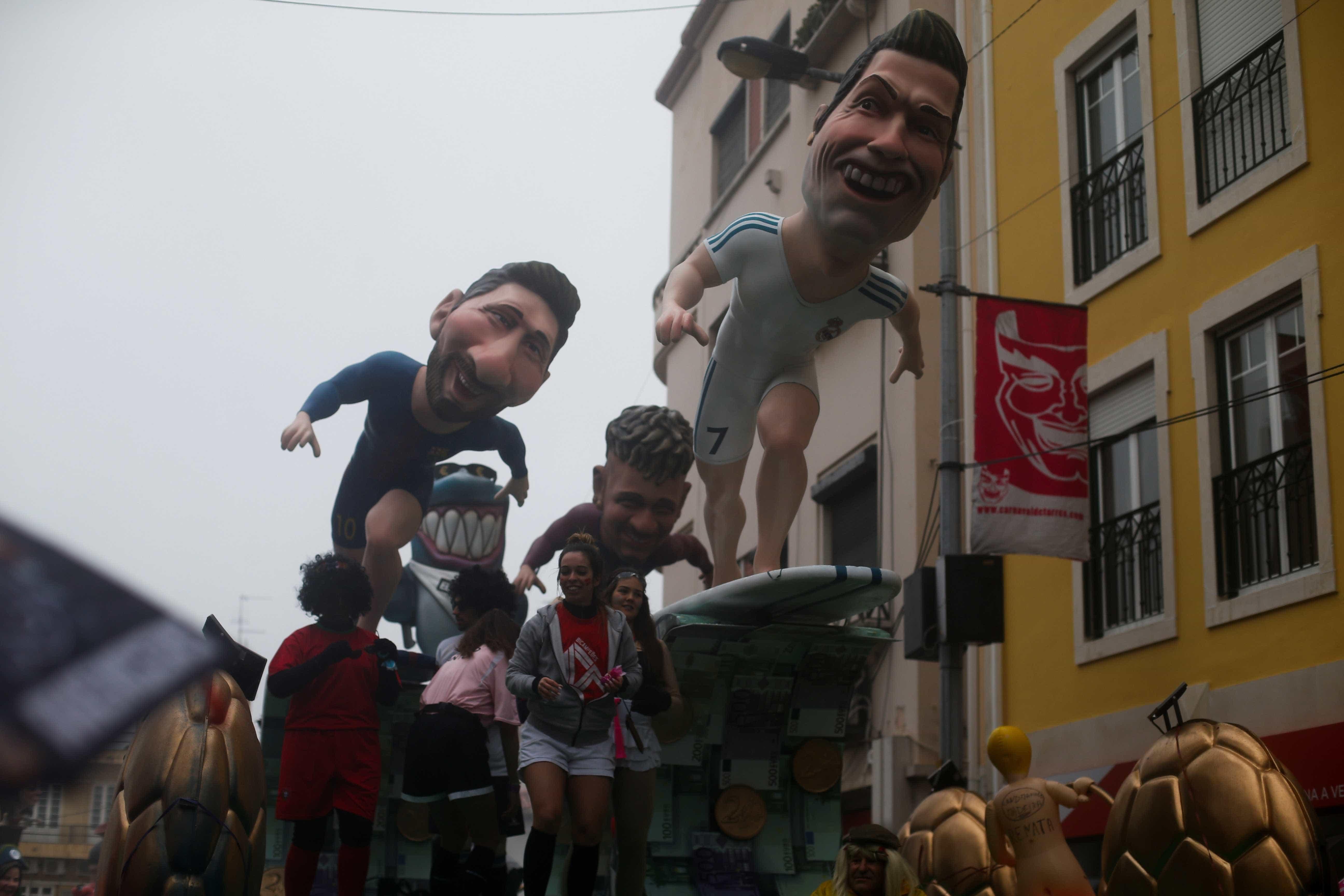 Imagens do Carnaval pelo mundo