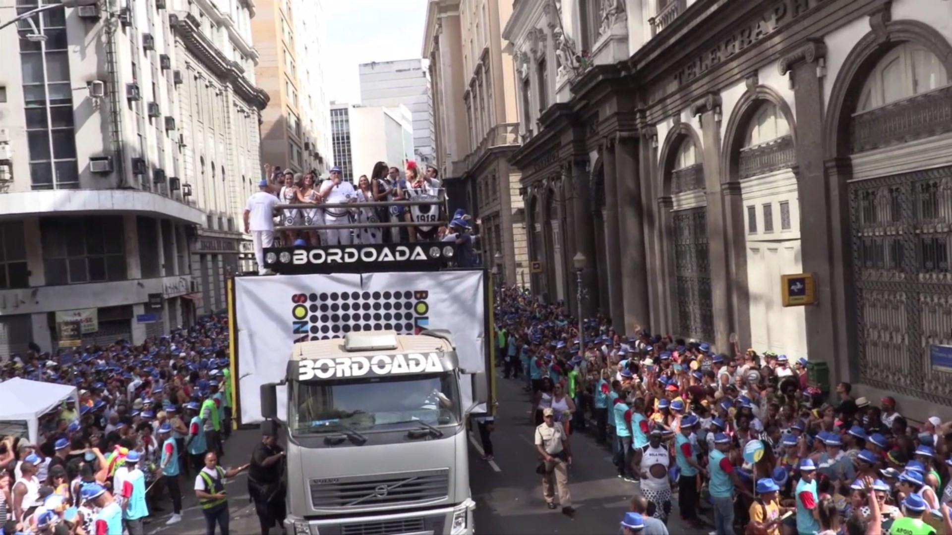 Bloco mais antigo do Rio de Janeiro celebra centenário no carnaval