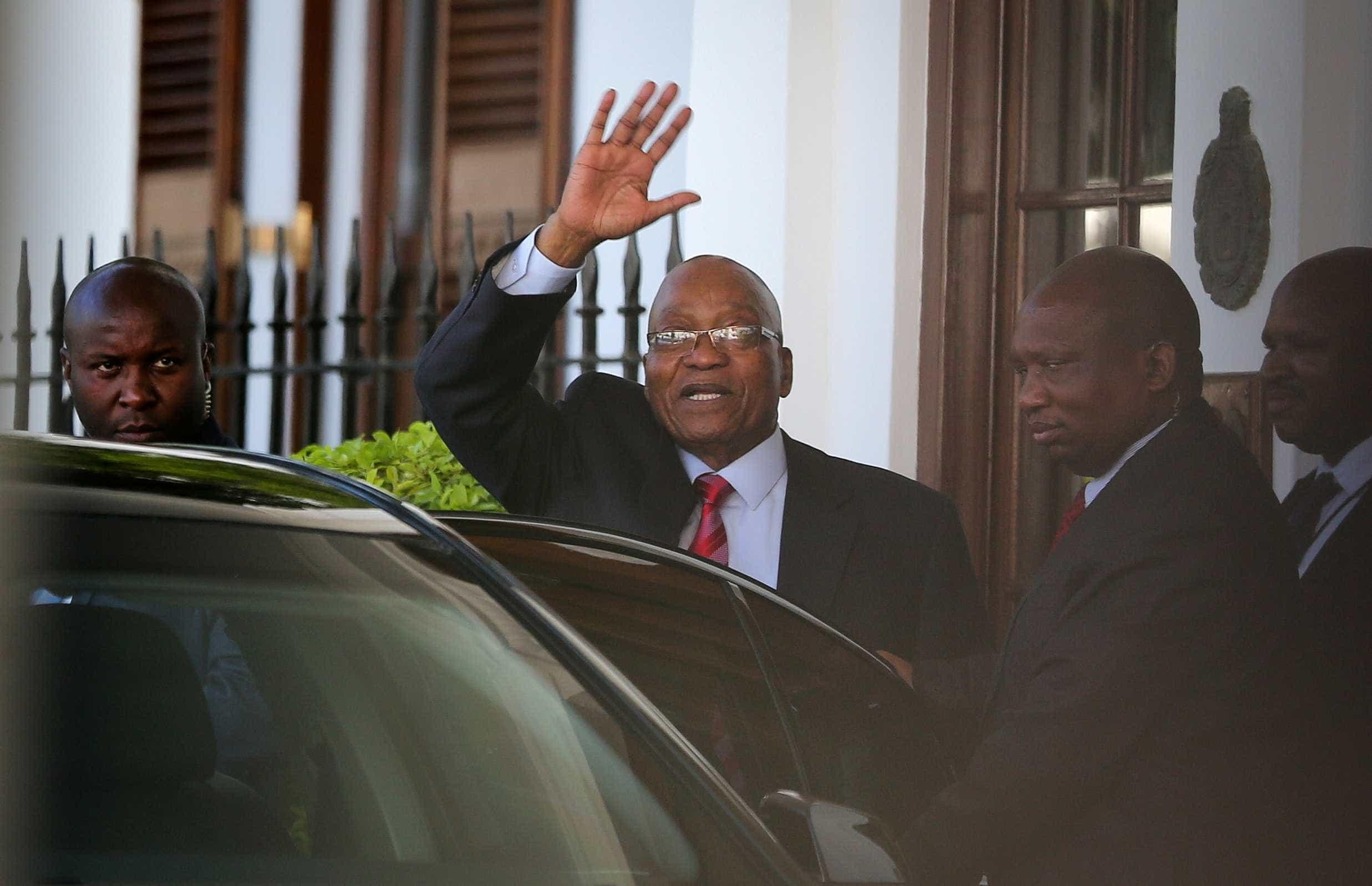ANC exige renúncia do presidente de África do Sul Jacob Zuma