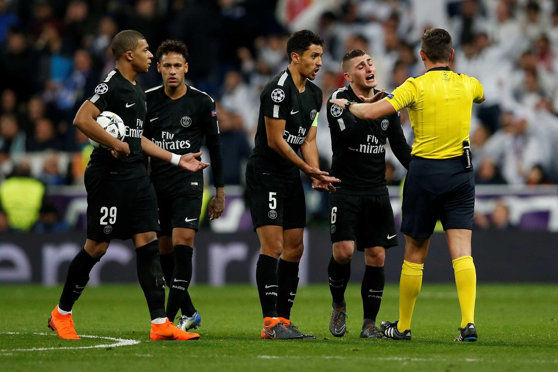 Presidente do PSG diz que árbitro é o culpado pela derrota de seu time