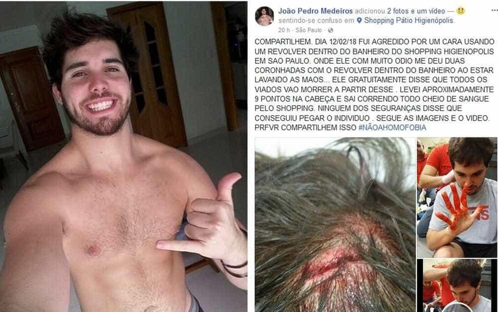 Guarda que agrediu ator é indiciado por homofobia e lesão corporal