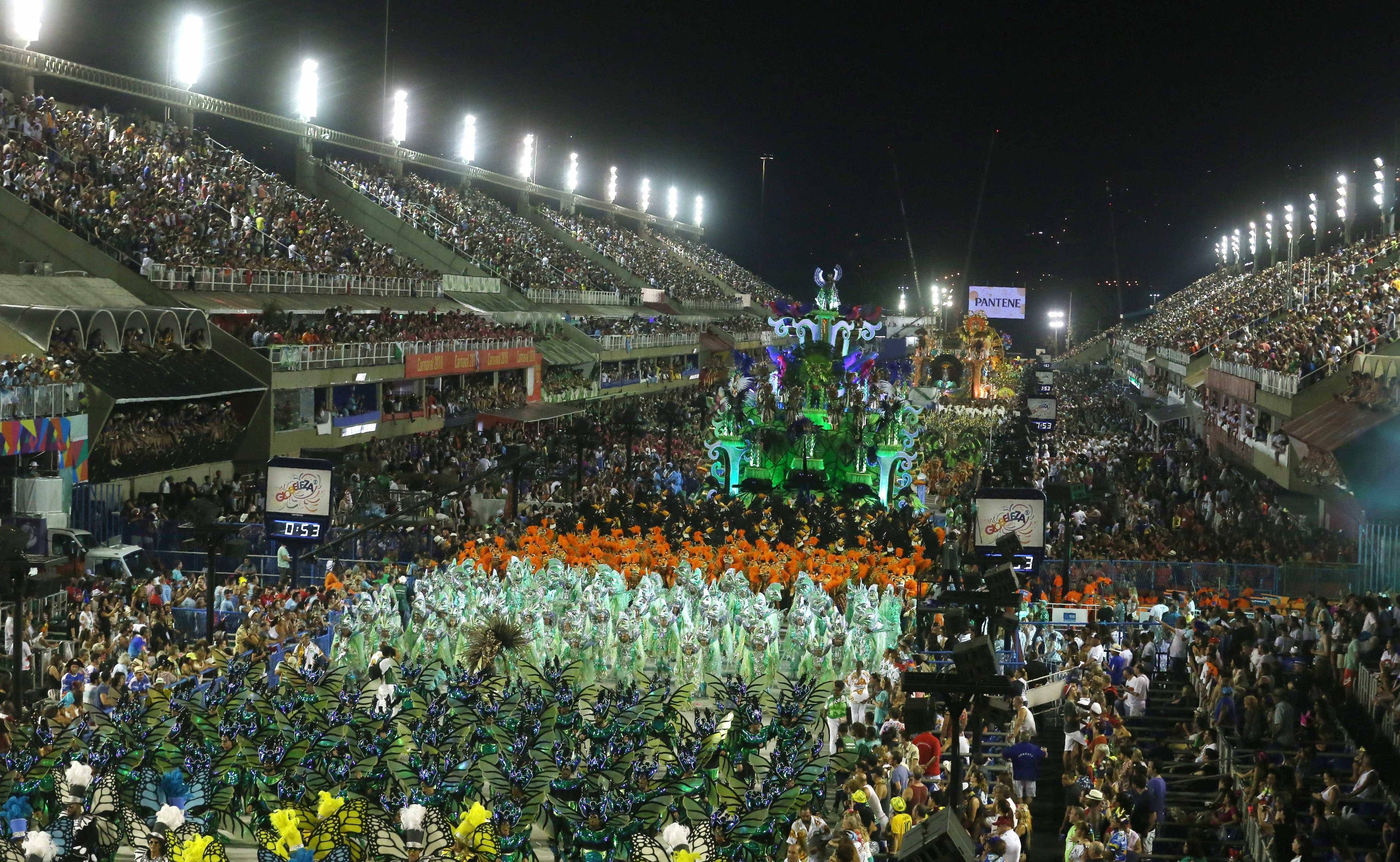 MP do Rio pede interdição do Sambódromo a um dia do carnaval