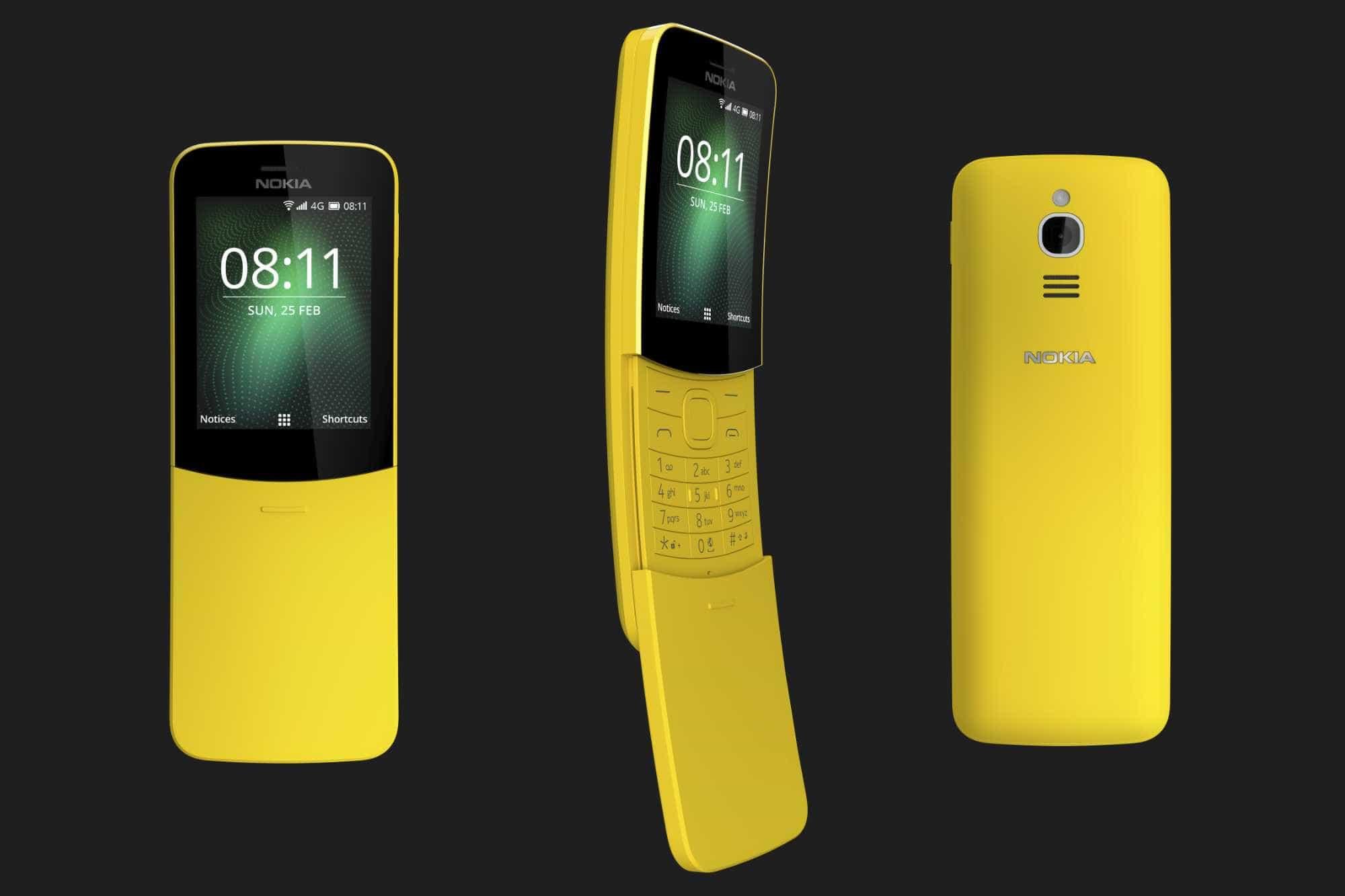 Nokia 8810, celular do 'Matrix', volta com 4G e tocador de MP3