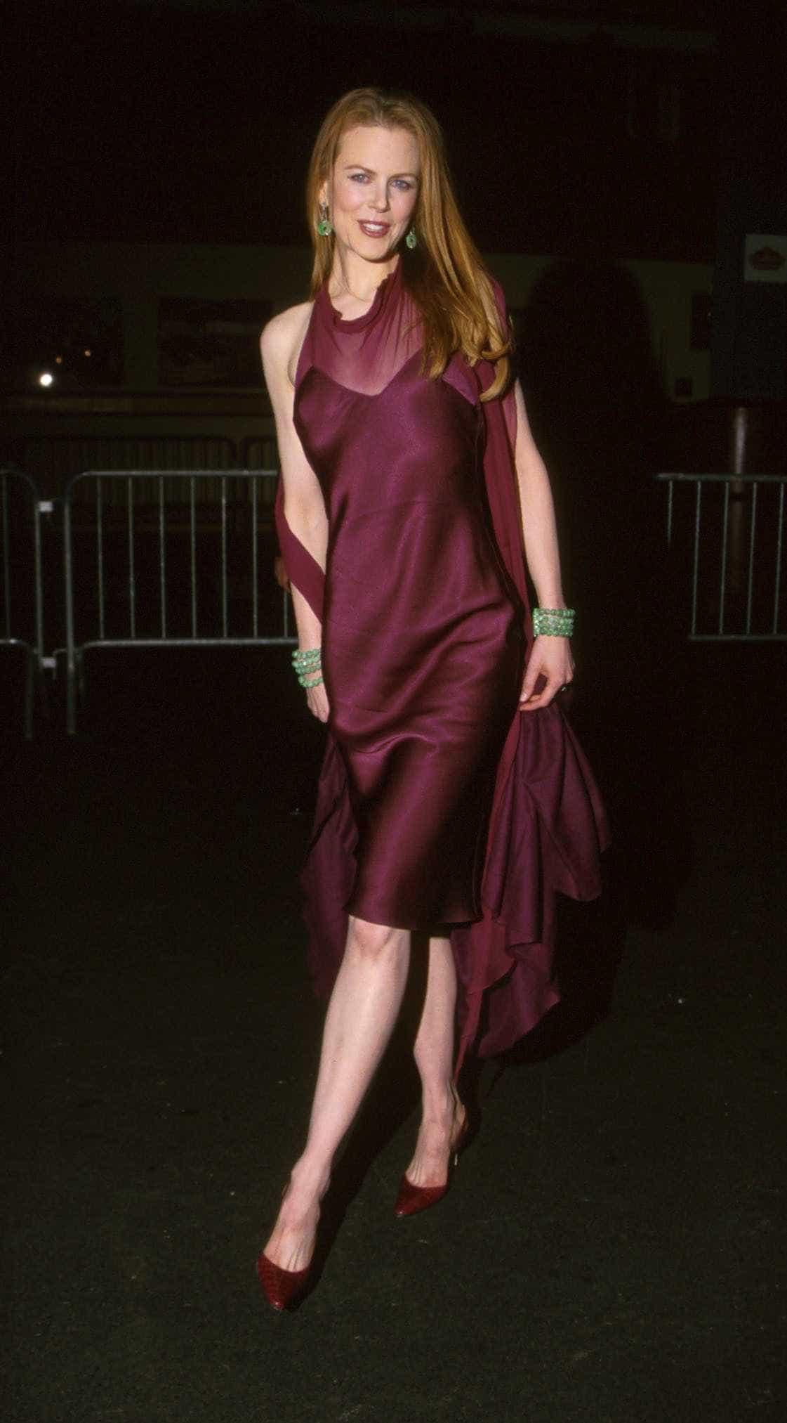 Confira a evolução do estilo de Nicole Kidman