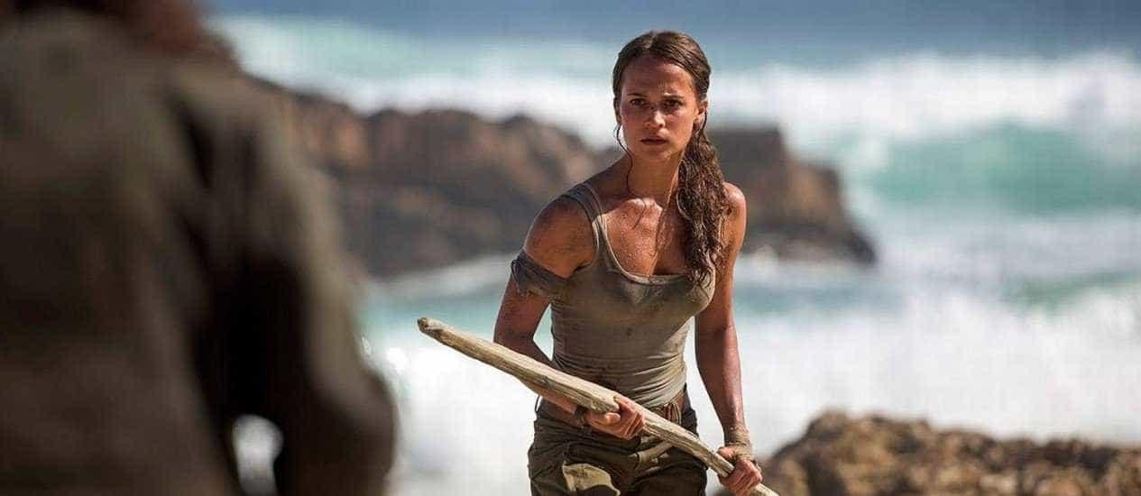 Atriz de 'Tomb Raider' treinou 6 vezes por semana para ser Lara Croft