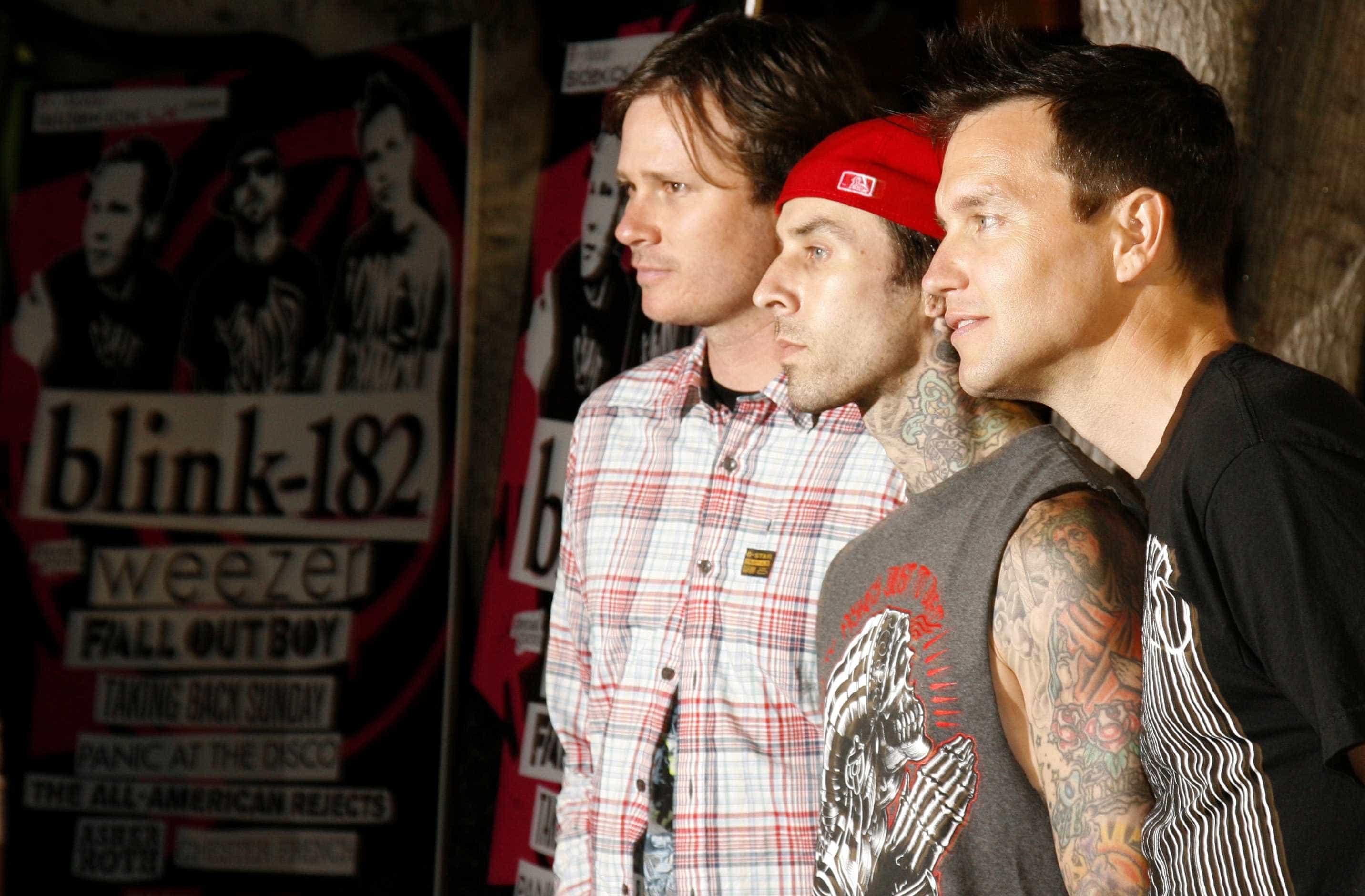 Blink 182 monta 'residência' em Las Vegas para série de shows