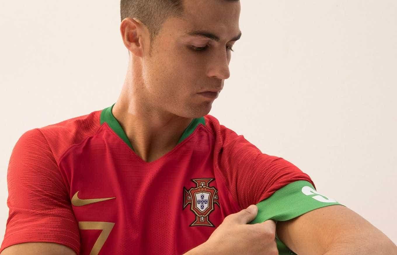 Portugal anuncia camisas que serão usadas no Mundial da Rússia