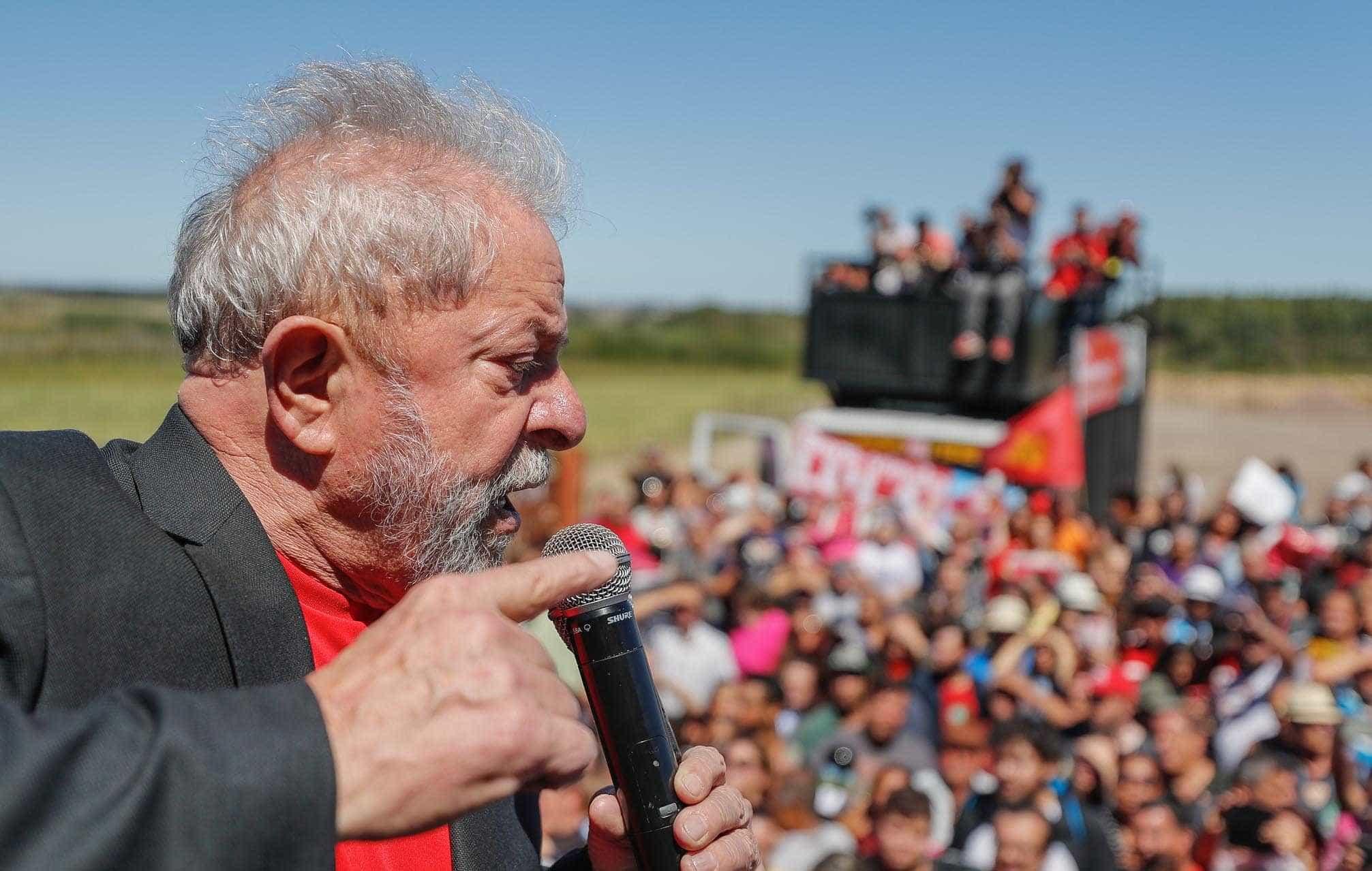 Prazer de fazendeiro é receber dinheiro e dar calote, diz Lula