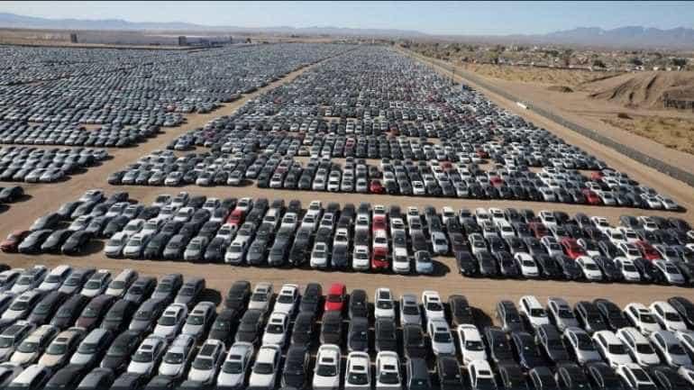 Deserto na Califórnia vira cemitério de veículos da Volkswagen