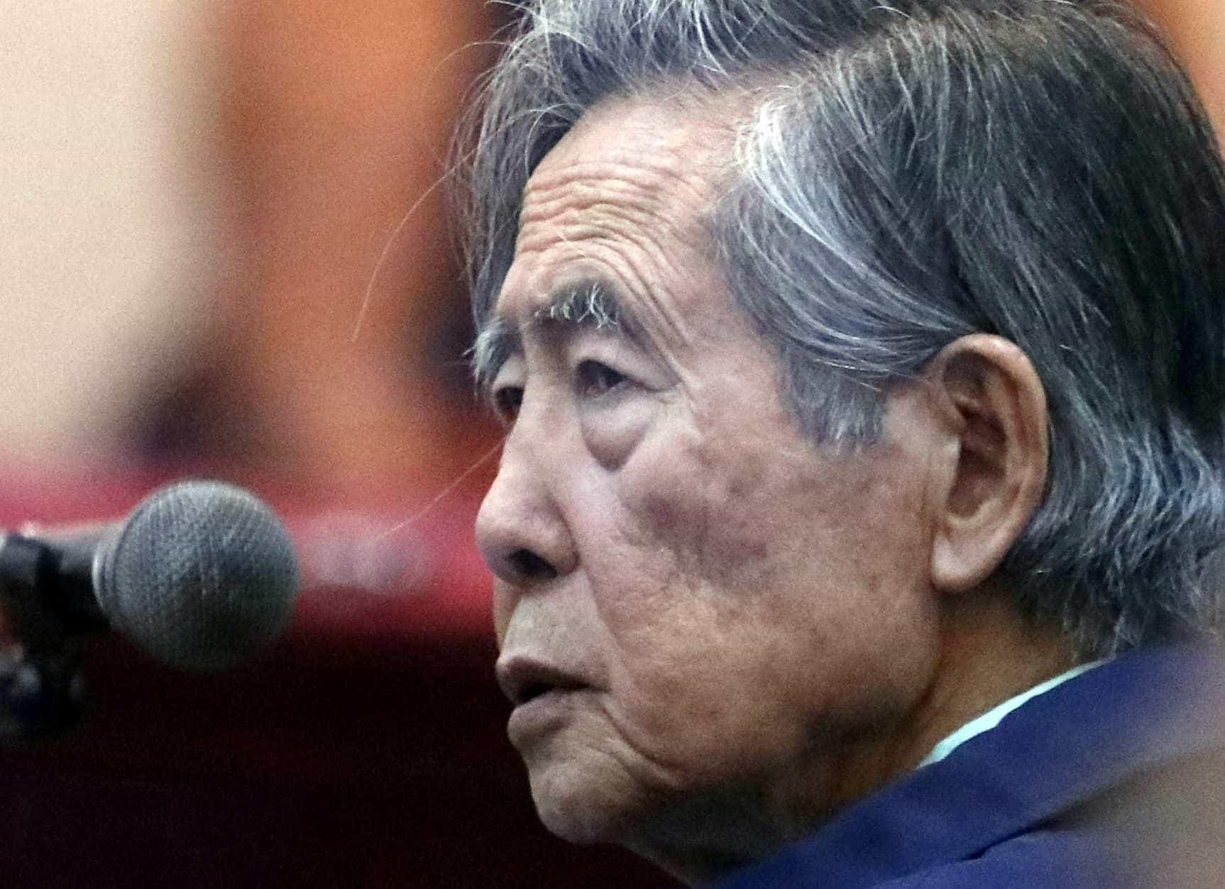 Fujimori é internado ao saber de anulação de indulto no Peru