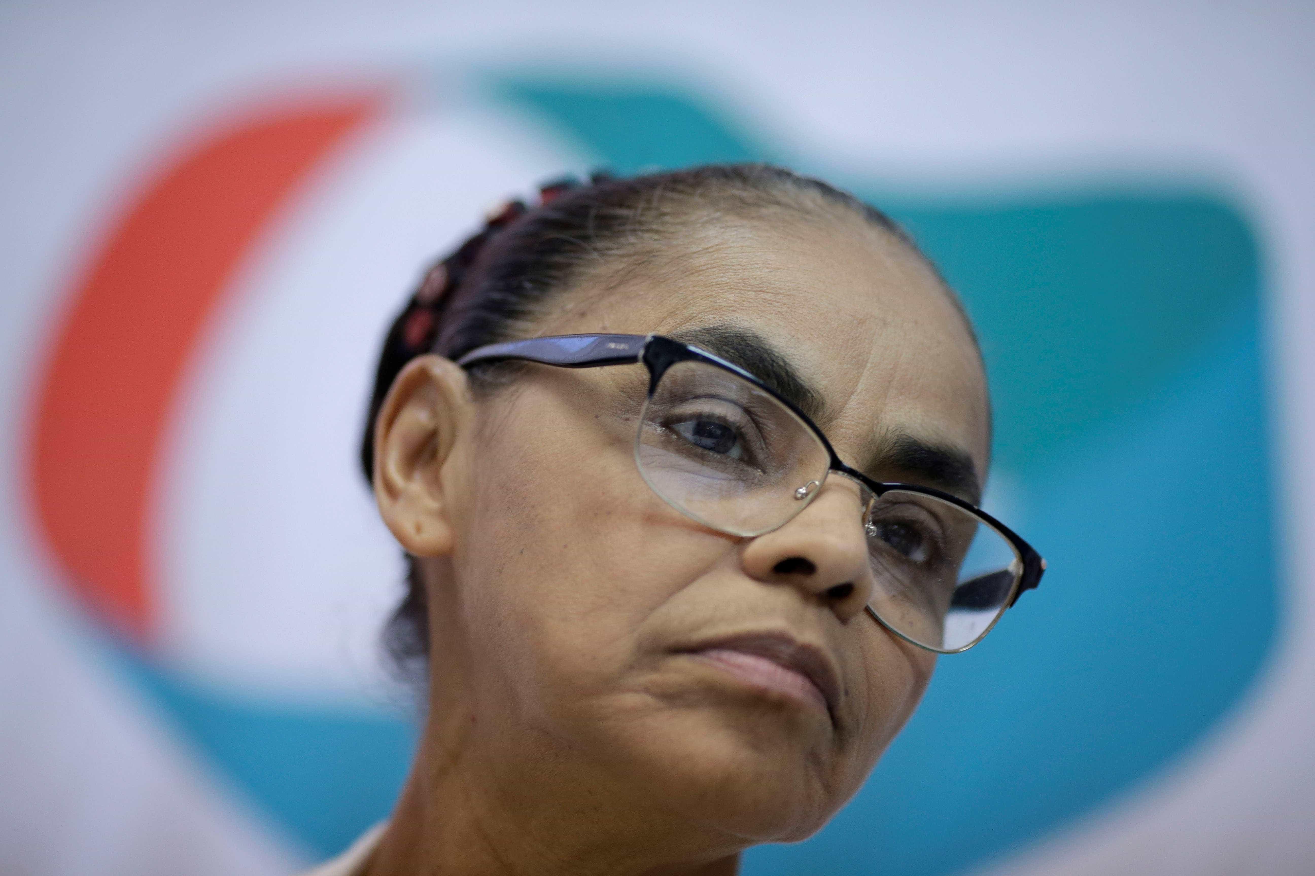 Marina critica Lula: 'Não se pode mudar a lei em função de uma pessoa'