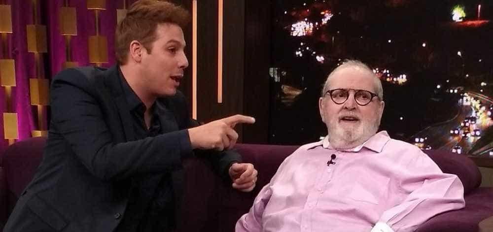 Jô Soares vai à Record e diz não sentir saudades da TV