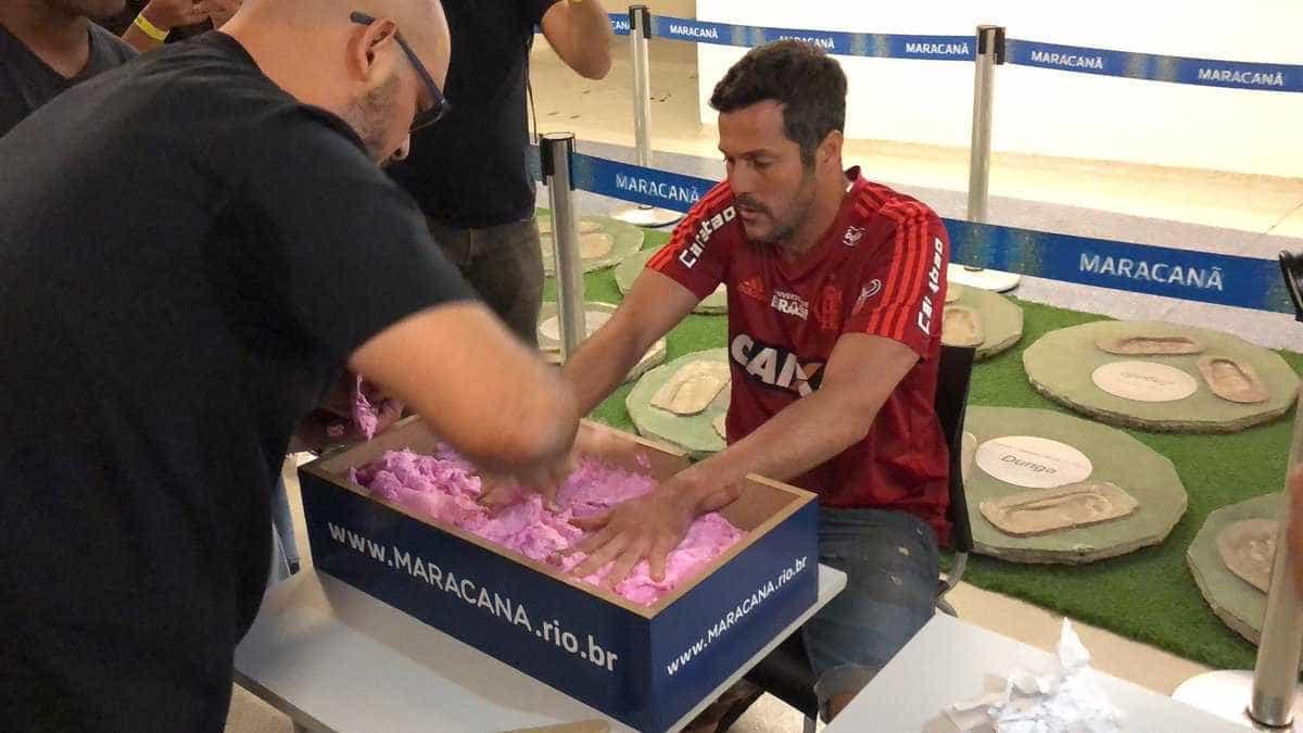 Julio Cesar é 'eternizado' no Maracanã