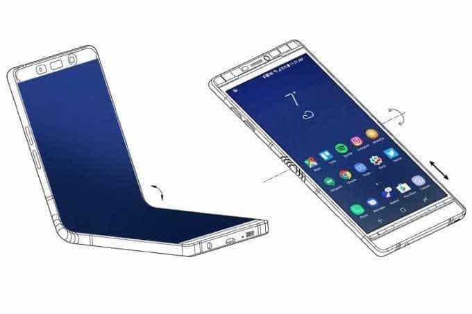 Samsung deve lançar smartphone com tela dobrável no início de 2019