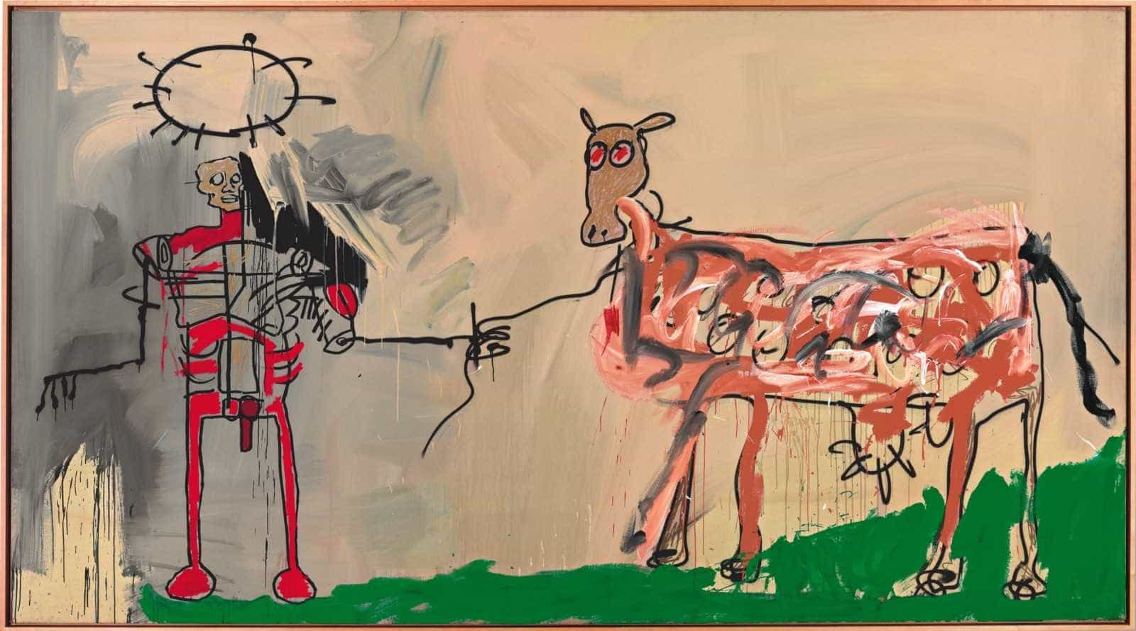 Mostra de Basquiat celebra aniversário de Brasília