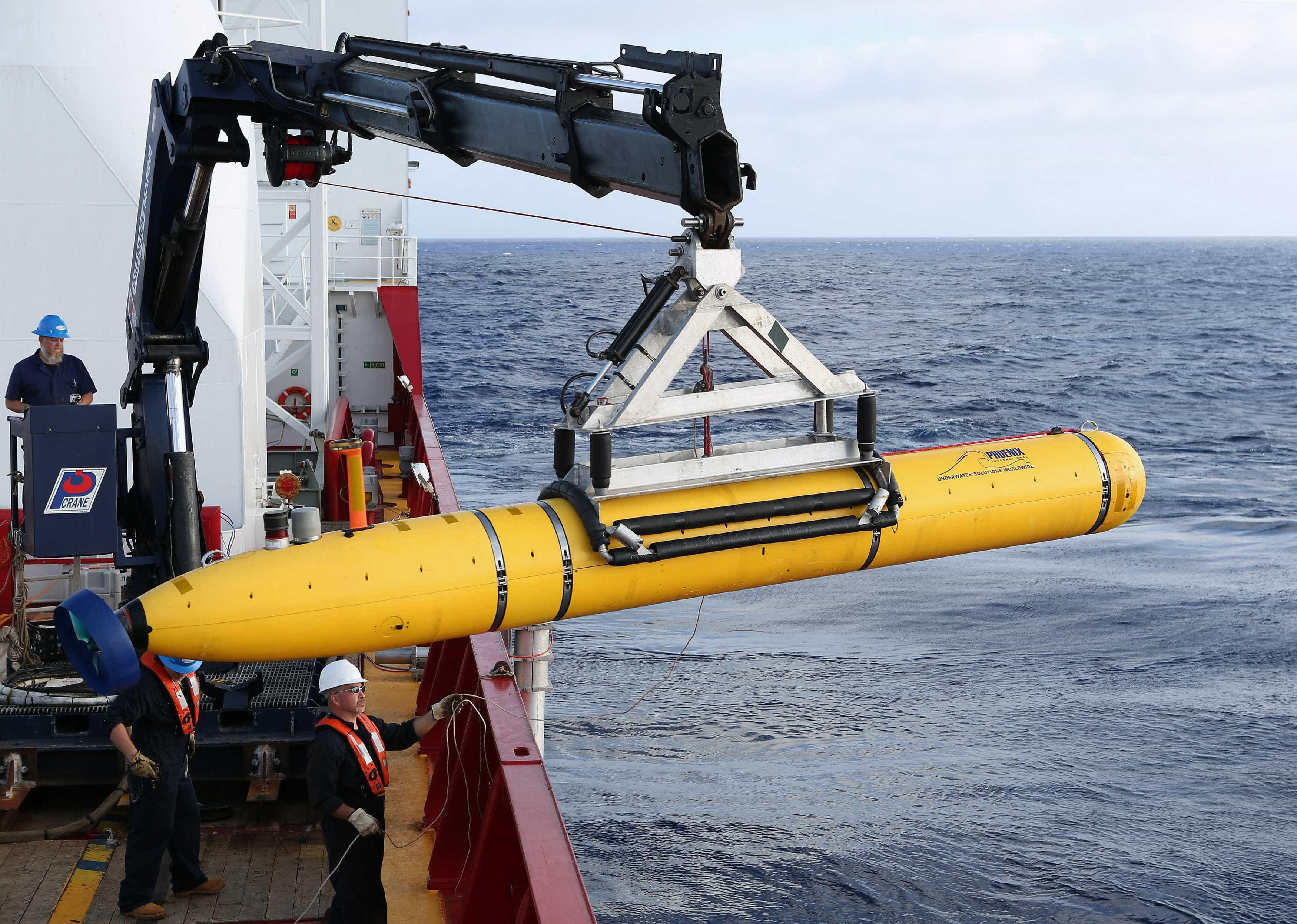 Drone submarino atinge 8.213 m de profundidade no oceano Pacífico