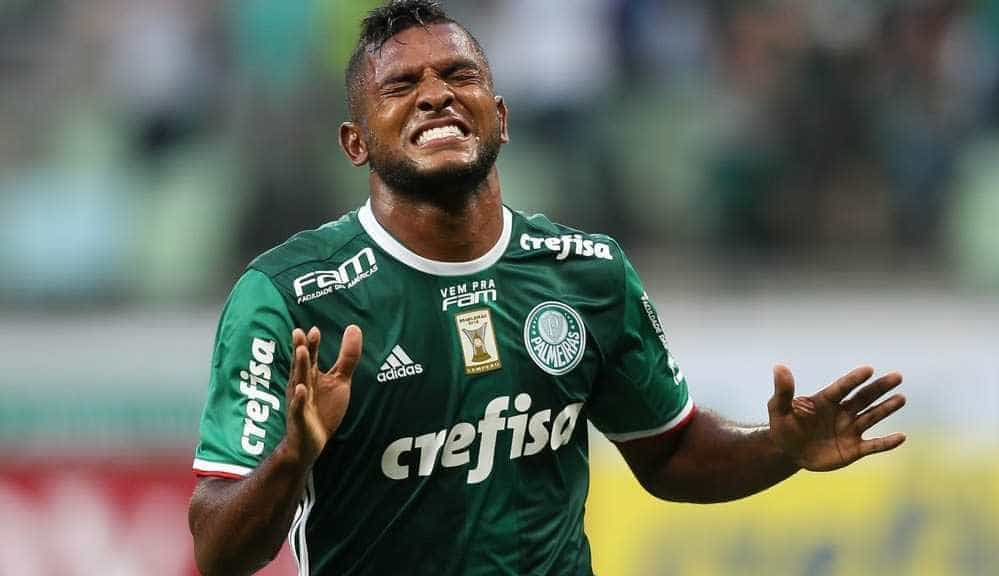 Borja peca pela irregularidade e tem baixa média de gols no Palmeiras