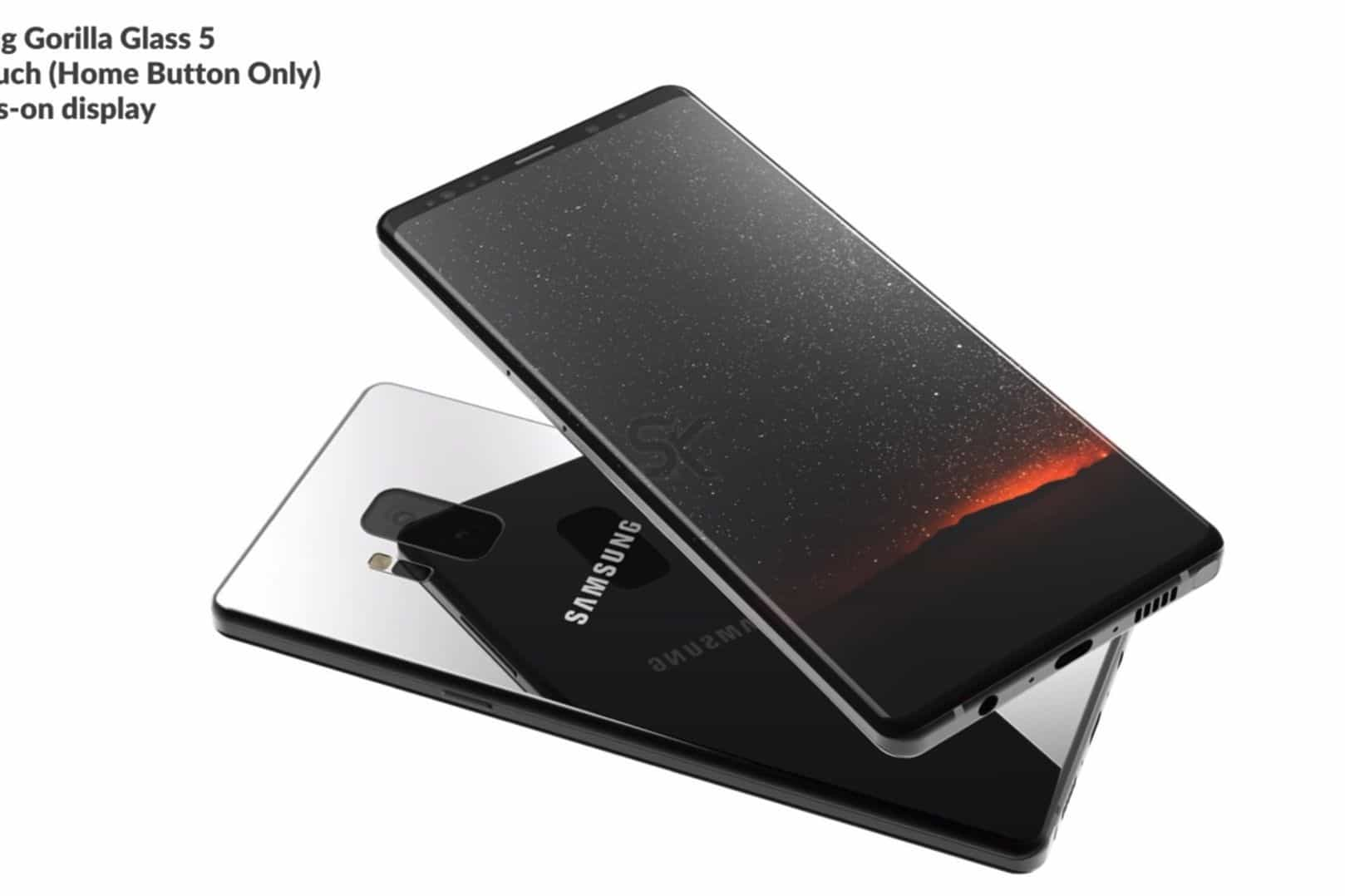 Vídeo mostra versão final do Galaxy Note 9