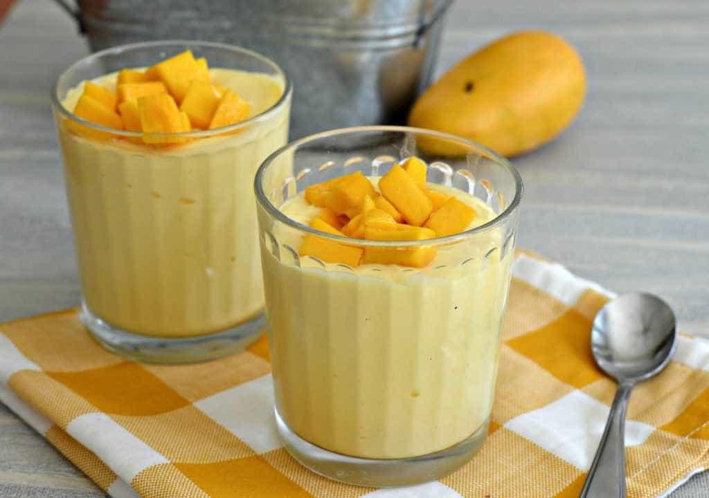 Aprenda uma receita fácil e saborosa de mousse de manga