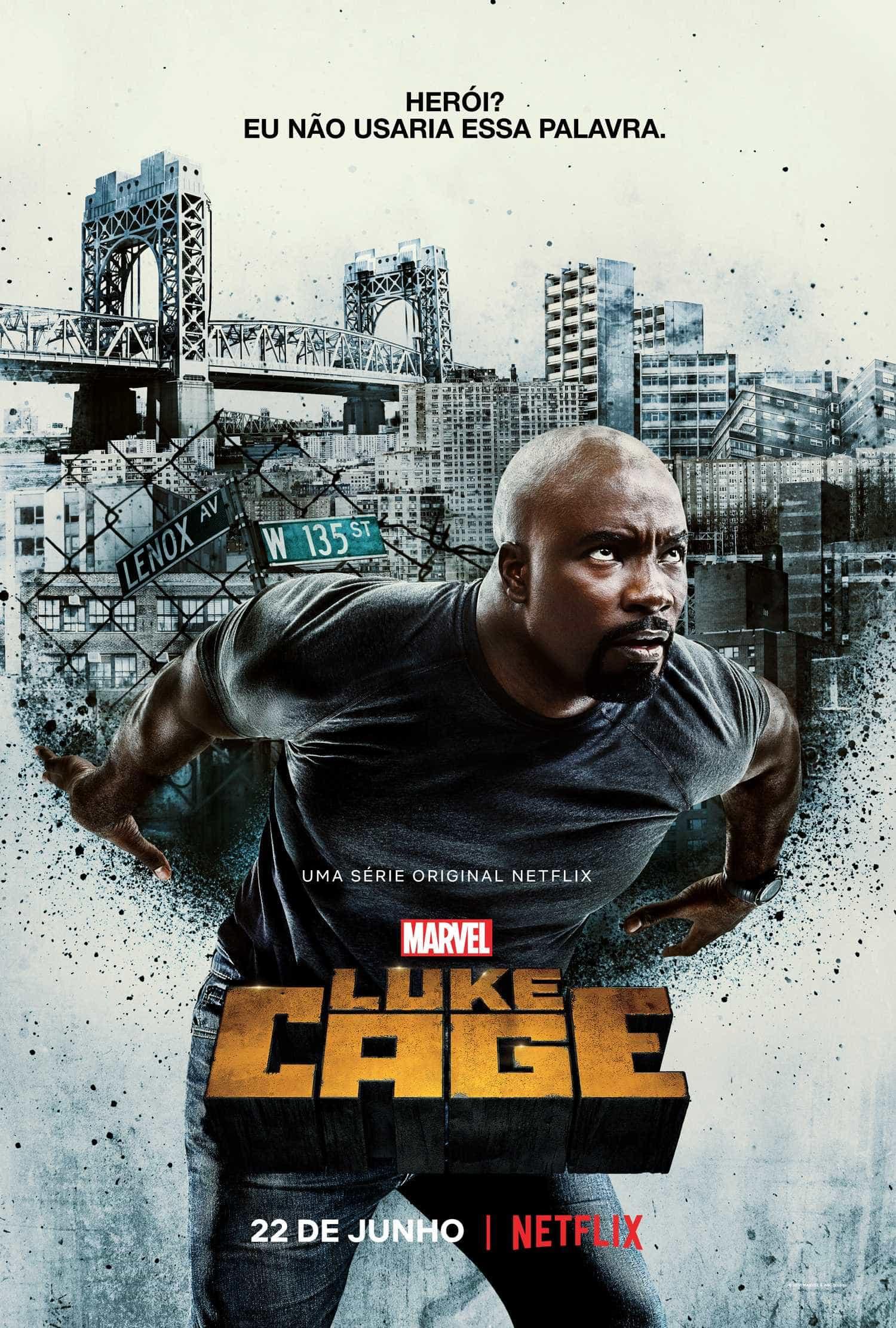 Poder de Luke Cage é testado em trailer que revela data de estreia