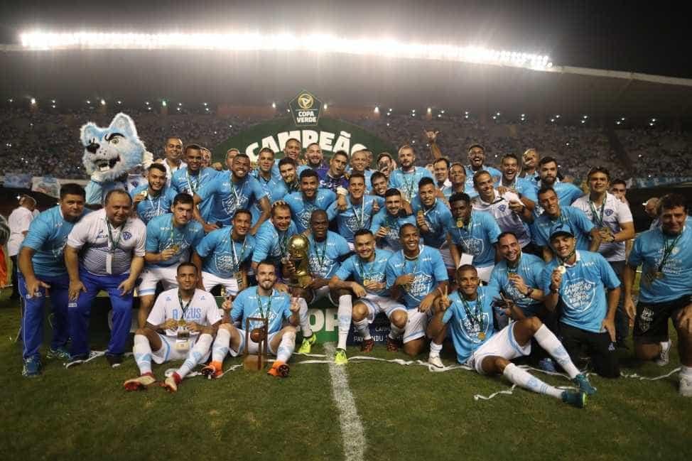 Paysandu conquista a Copa Verde após empatar em casa