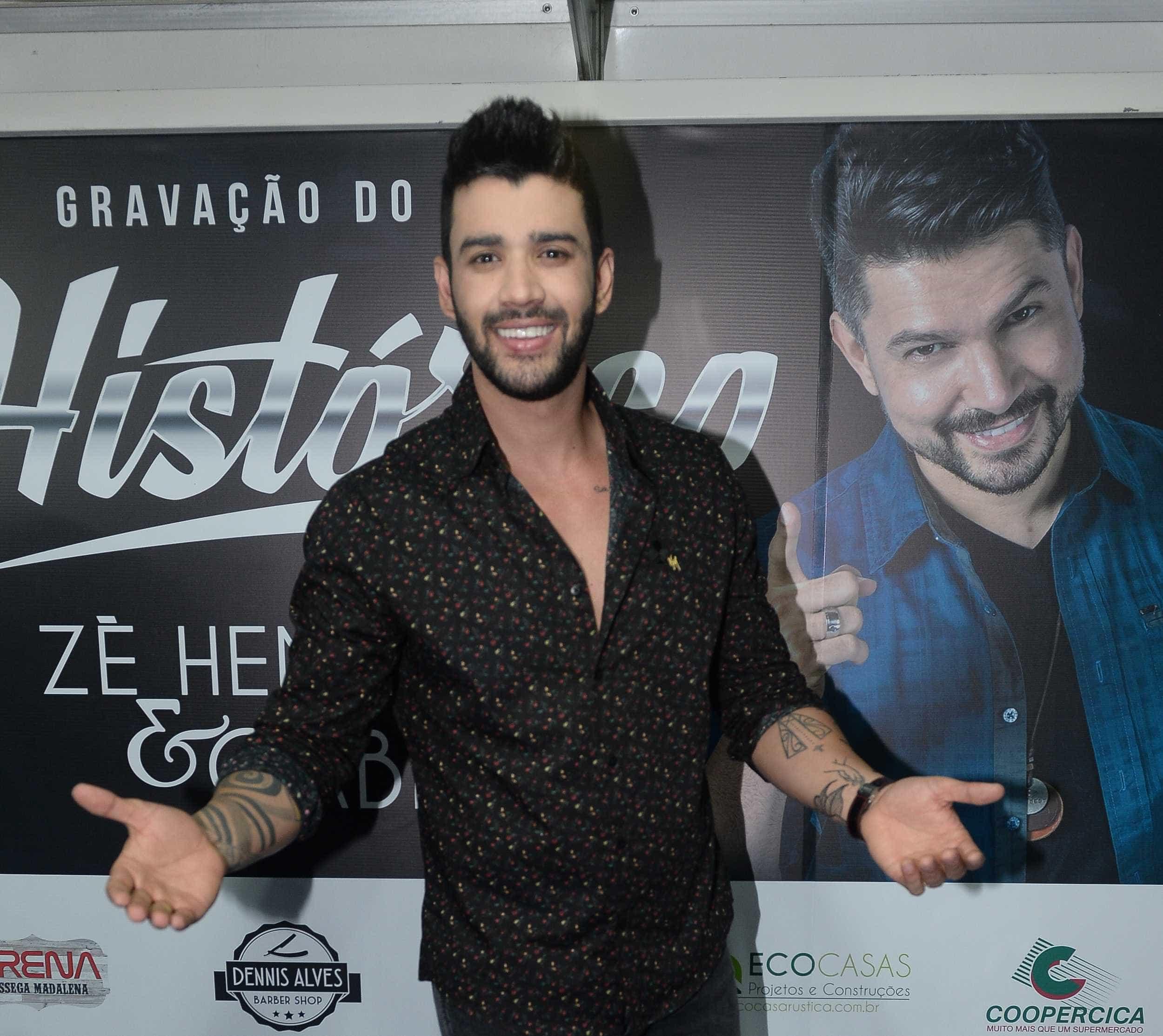 Gusttavo Lima tem alta após passar mal em show