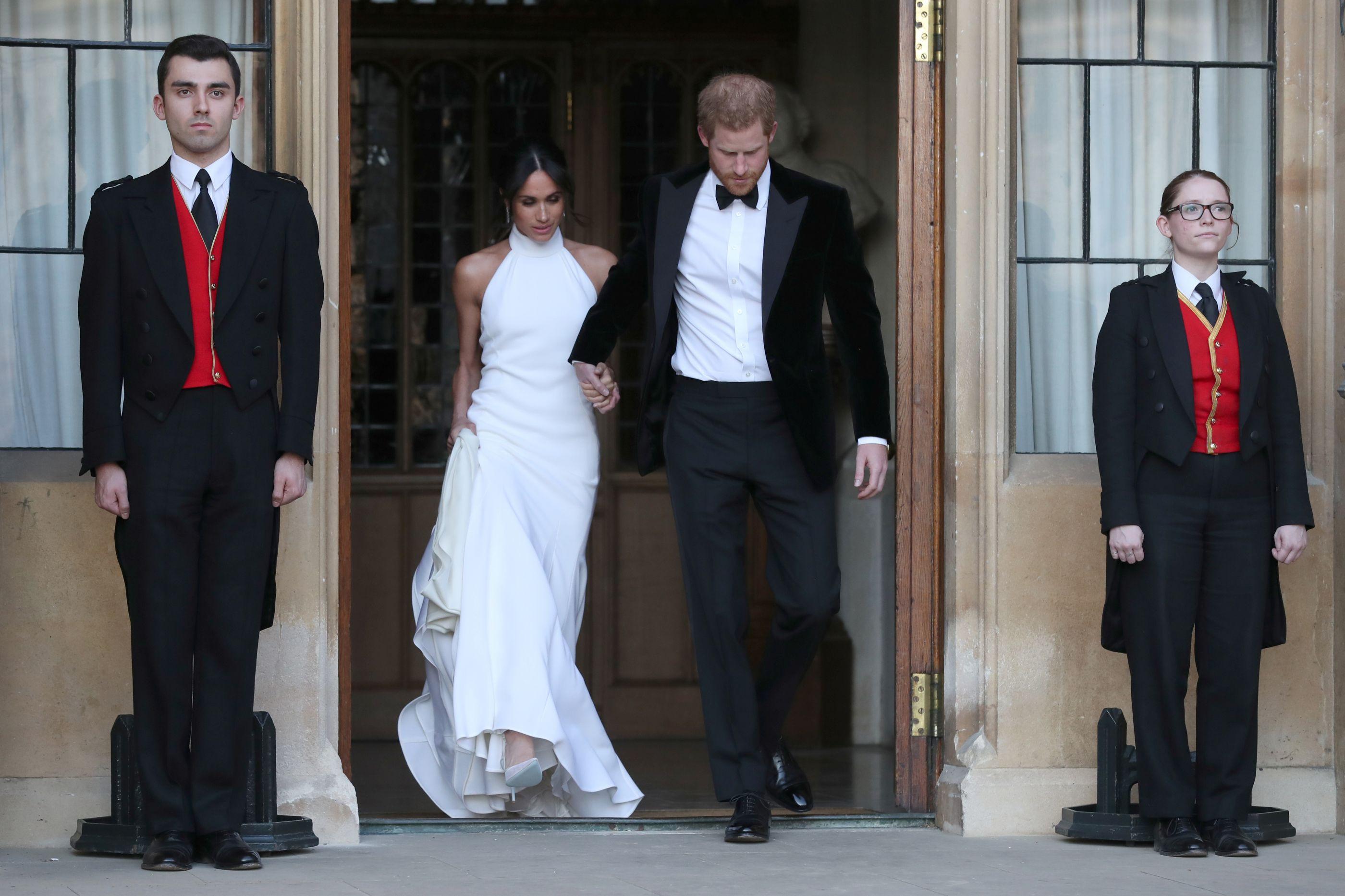 Stella McCartney desenhou segundo vestido de Meghan Markle