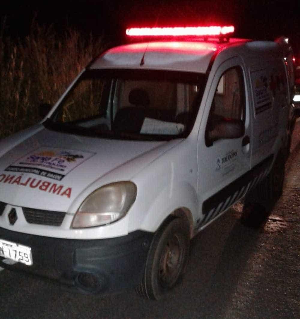 Criminosos invadem ambulância e matam paciente no Tocantins