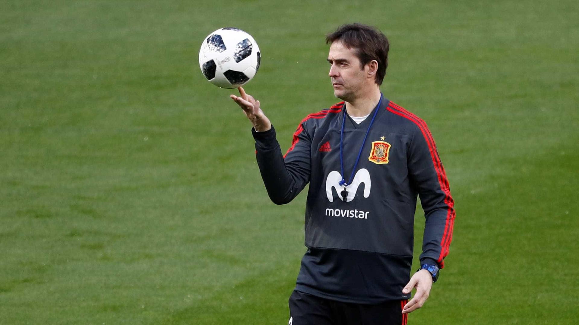 74c7d5b517 Técnico da Espanha anuncia convocação para a Copa  Morata está fora