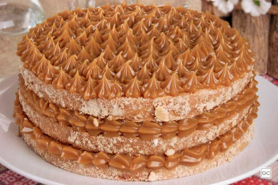 Faça um bolo de churros delicioso