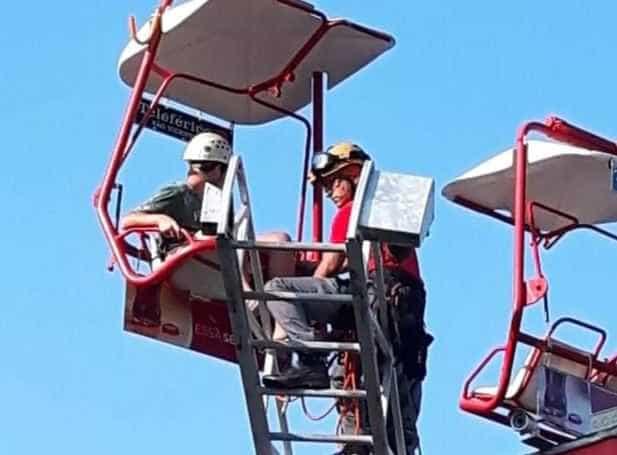 Teleférico trava e ao menos 10 pessoas ficam presas em SP