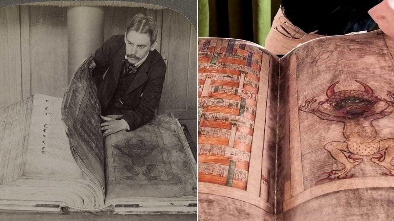'Bíblia do Diabo': conheça o manuscrito polêmico exposto na Suécia