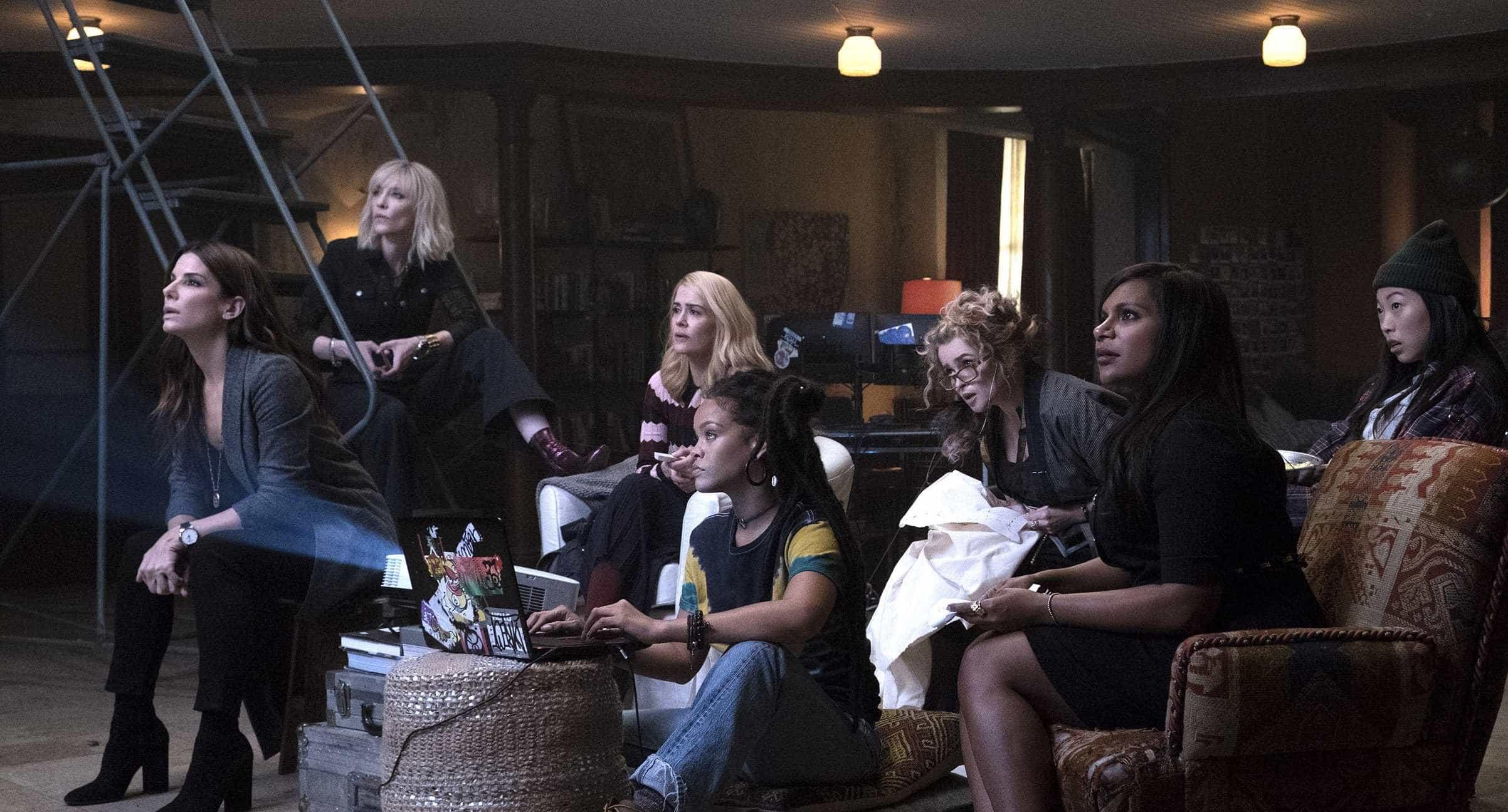 'Oito Mulheres e Um Segredo' lidera bilheteria do fim de semana nos EUA
