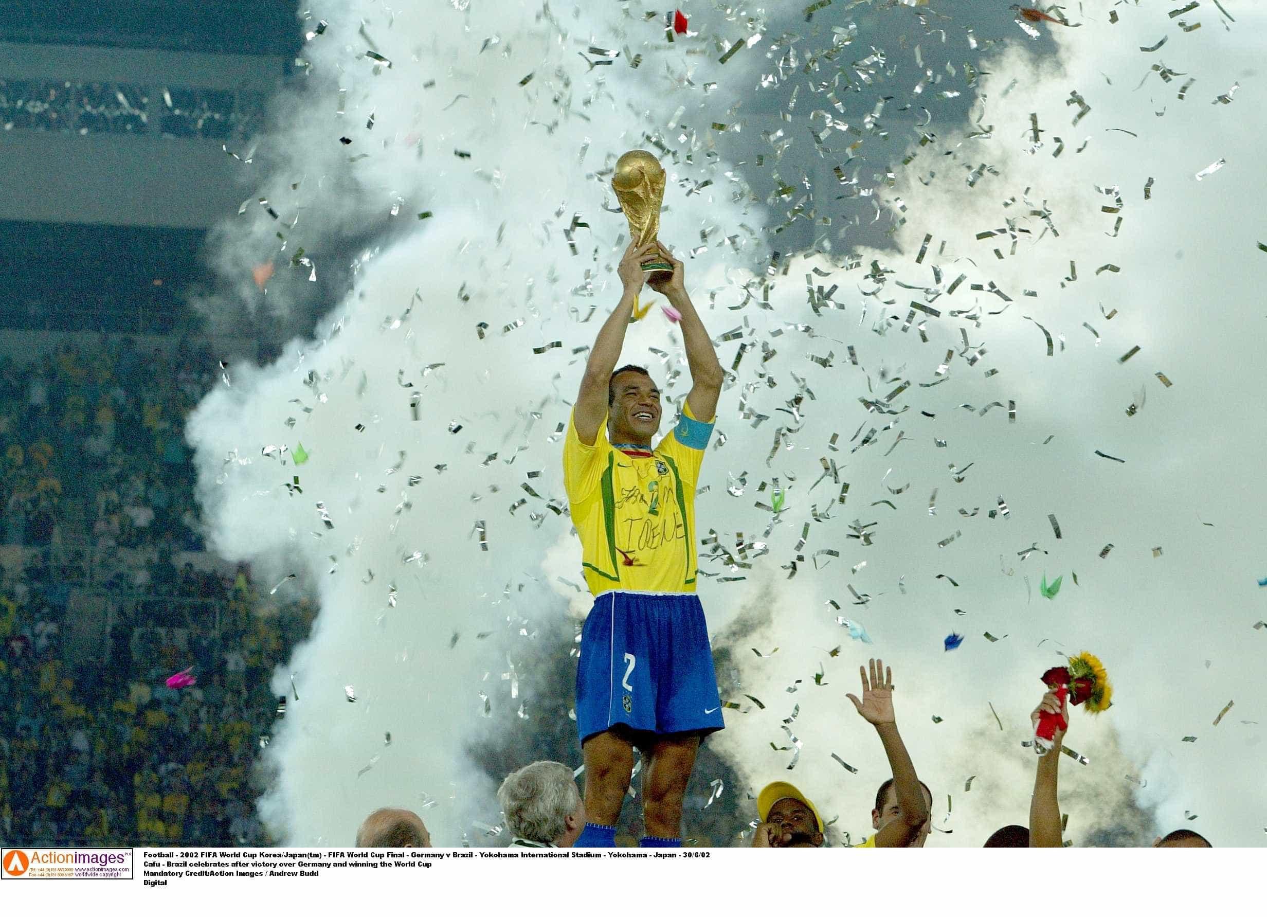 Se os placares dos últimos jogos se repetissem, Brasil venceria a Copa