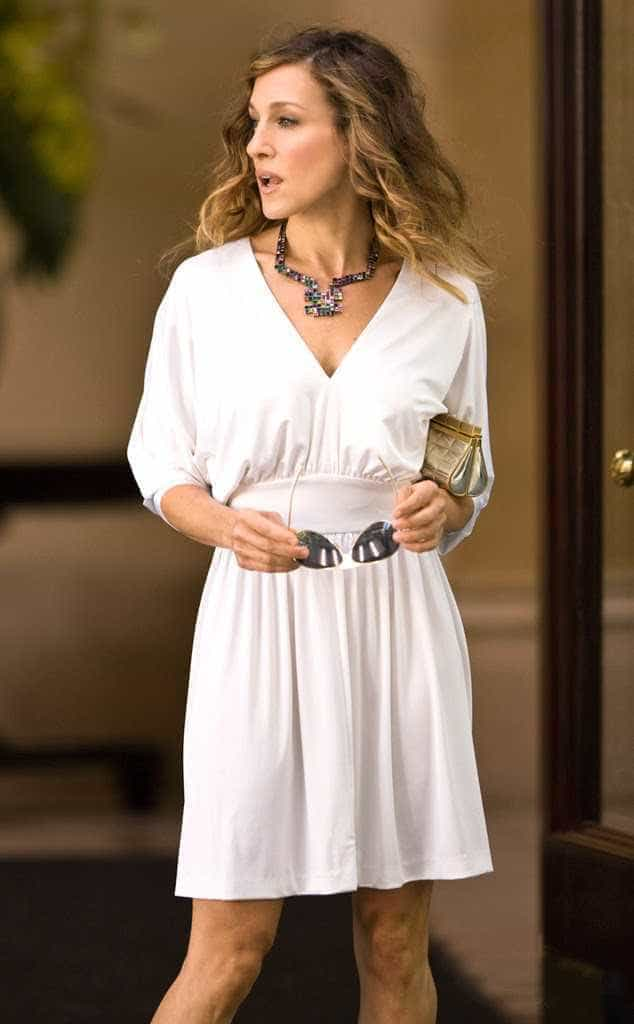 Os looks mais caros de Carrie Bradshaw em 'Sex and the City'