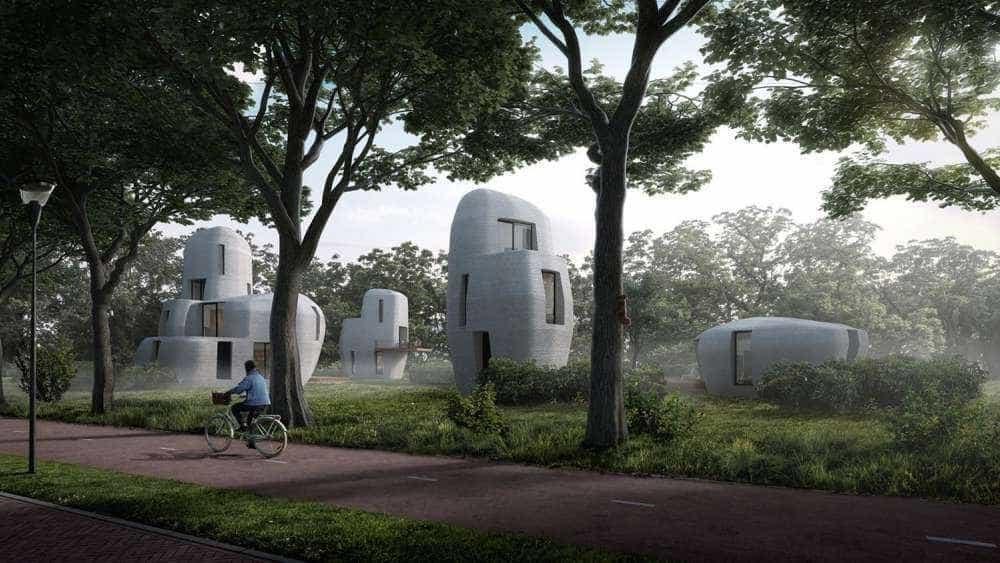 Primeiro complexo com casas 'impressas' em 3D já tem endereço